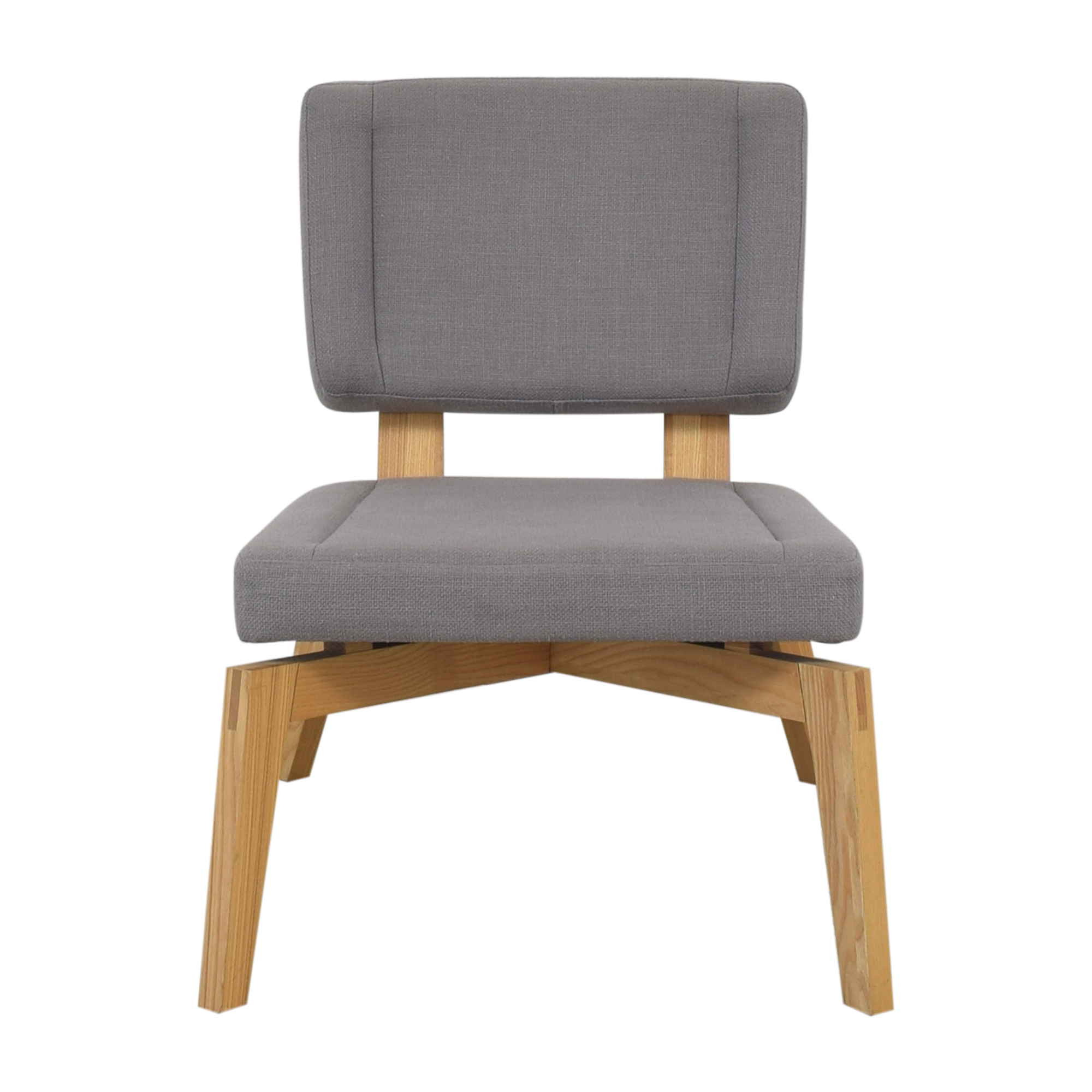 CB2 Lounge Chair with Ottoman / Accent Chairs