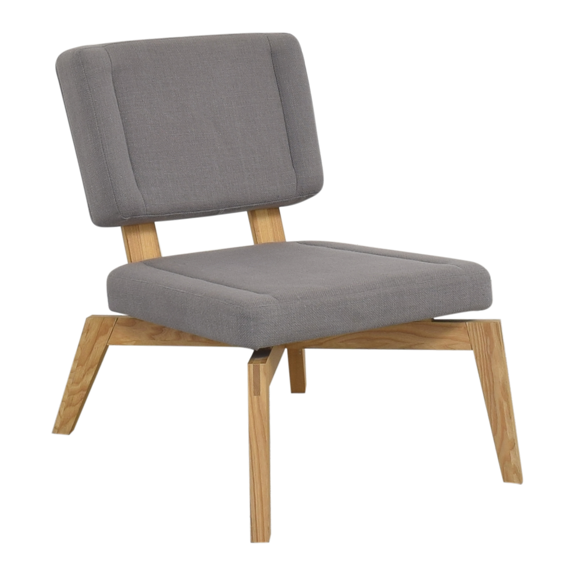 buy CB2 Lounge Chair with Ottoman CB2