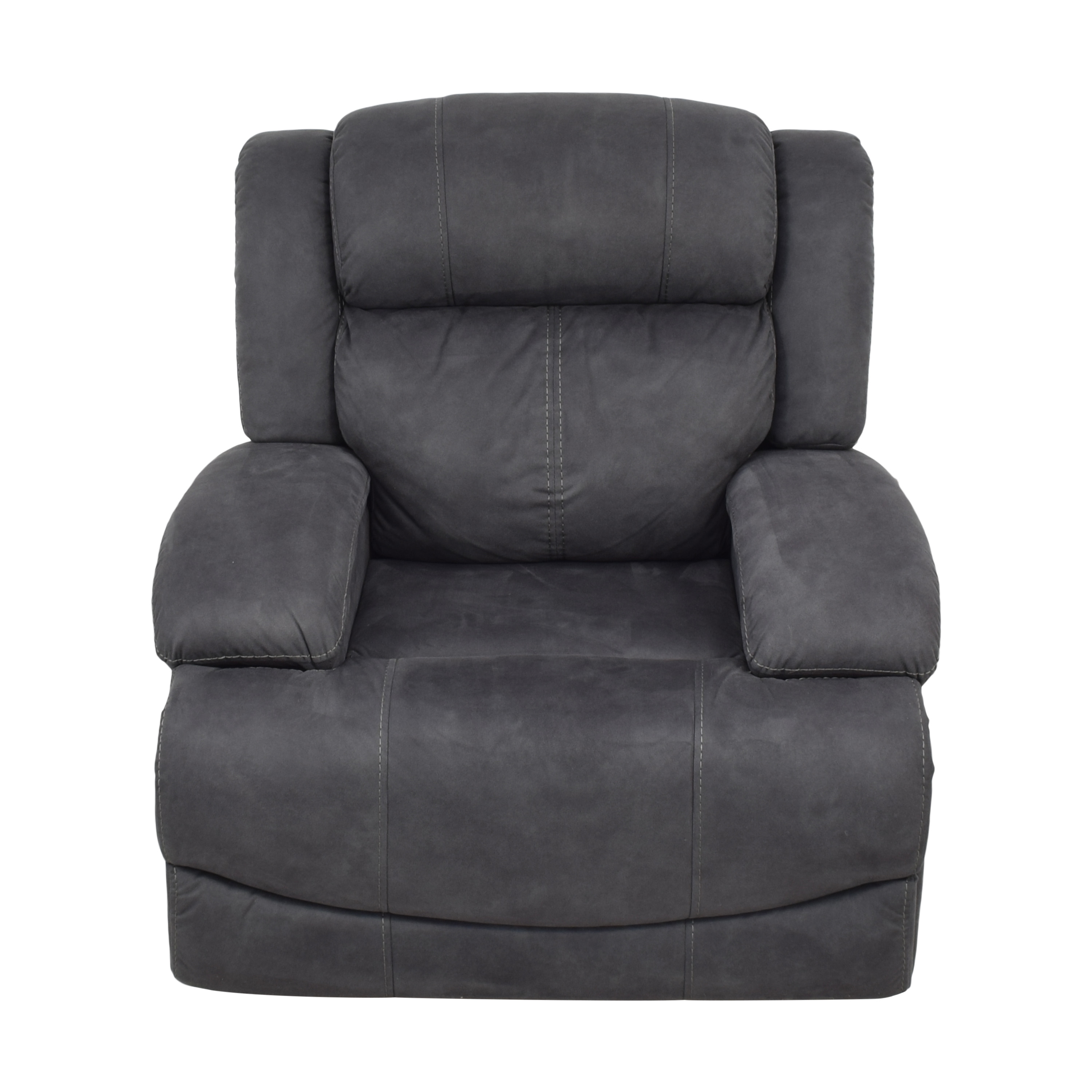 Raymour & Flanigan Raymour & Flanigan Quincey Glider Power Recliner nj