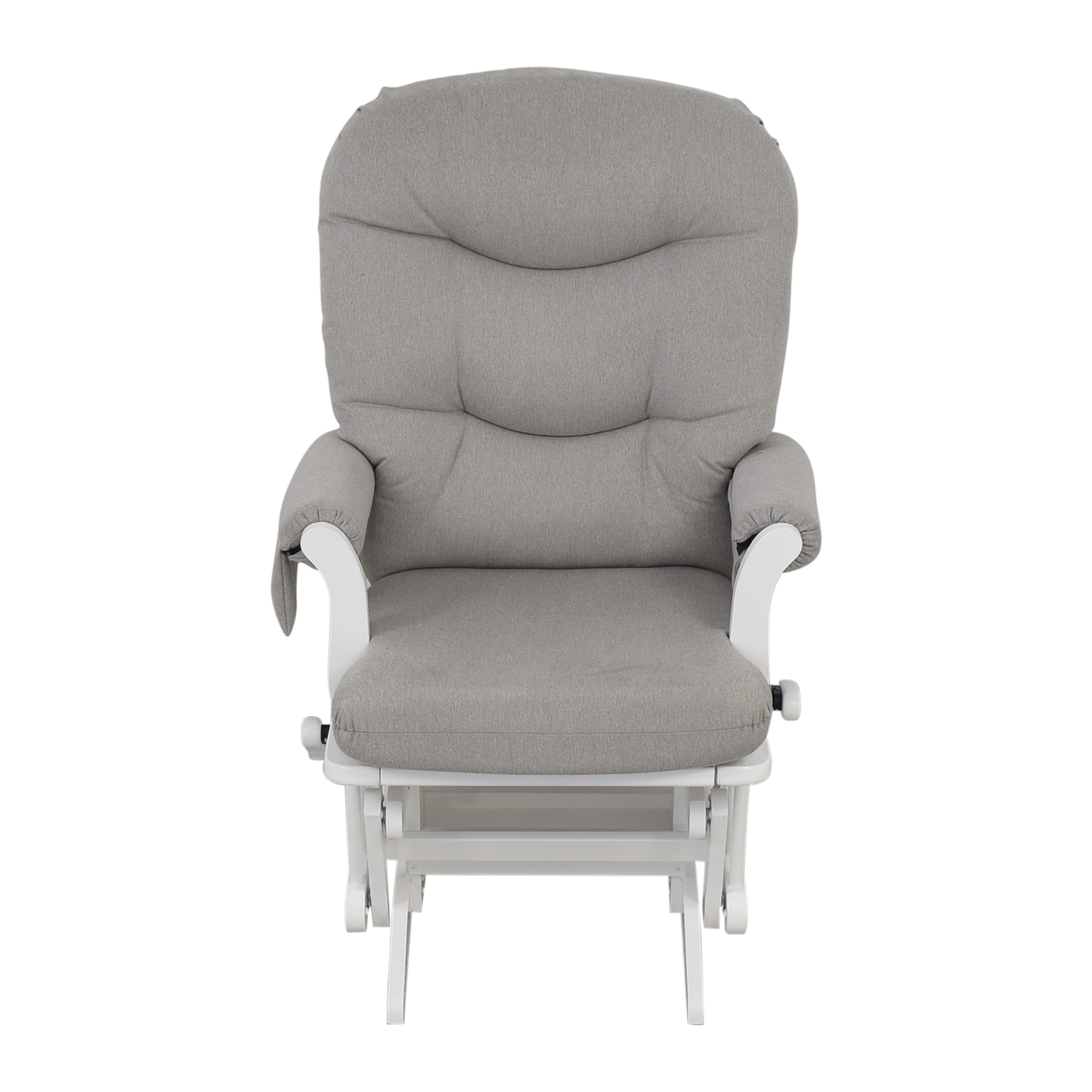 buy Dutailier Multi-Position Reclining Sleigh Glider and Nursing Ottoman Dutailier
