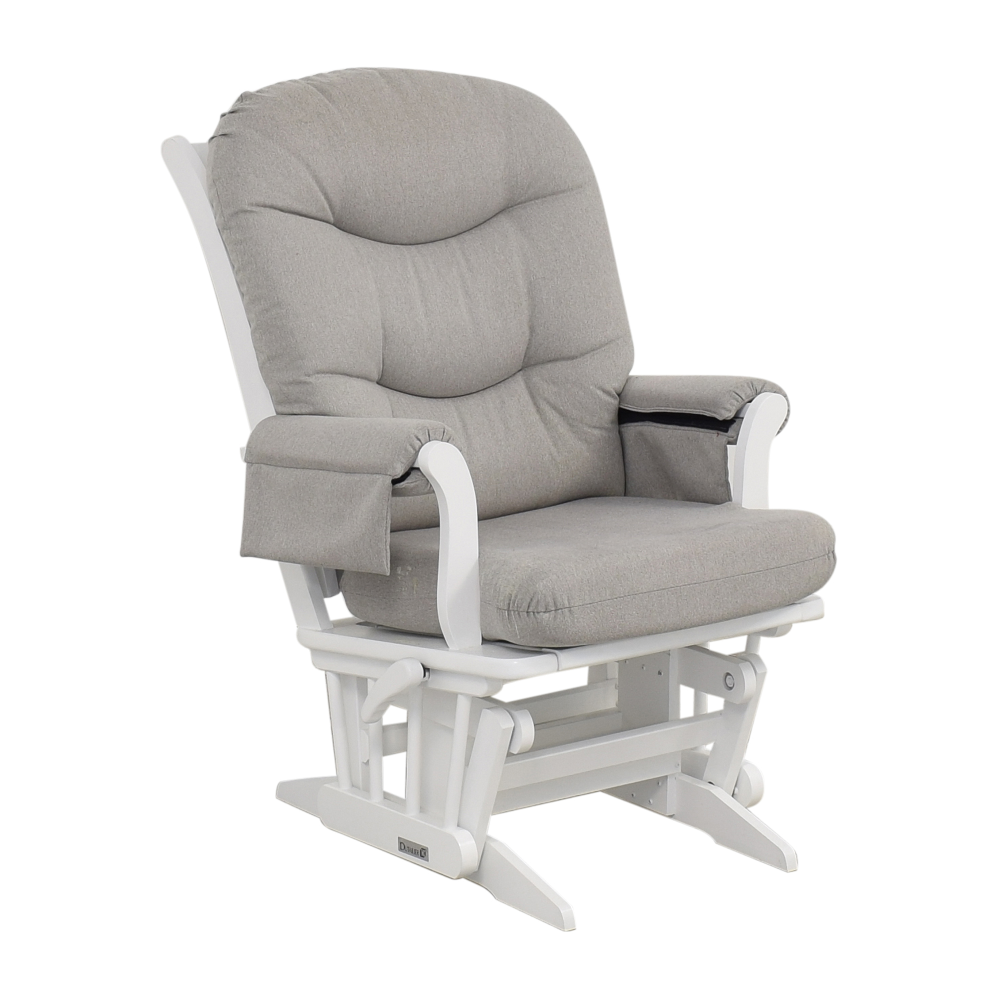 Dutailier Dutailier Multi-Position Reclining Sleigh Glider and Nursing Ottoman discount