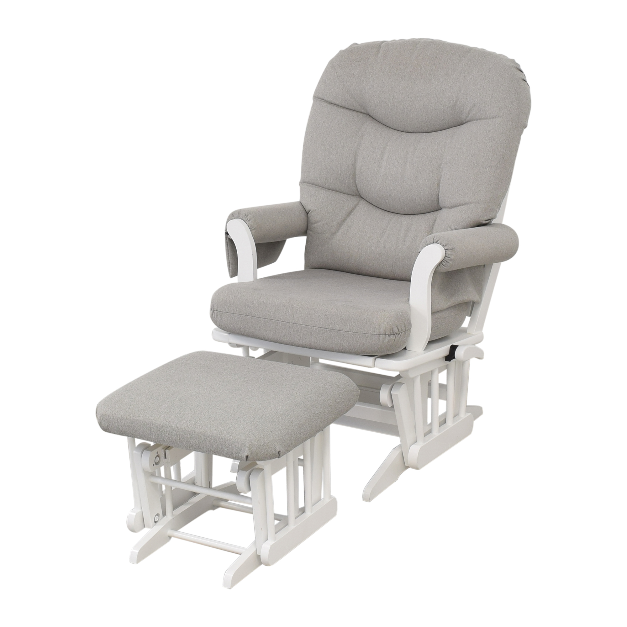 Dutailier Dutailier Multi-Position Reclining Sleigh Glider and Nursing Ottoman used