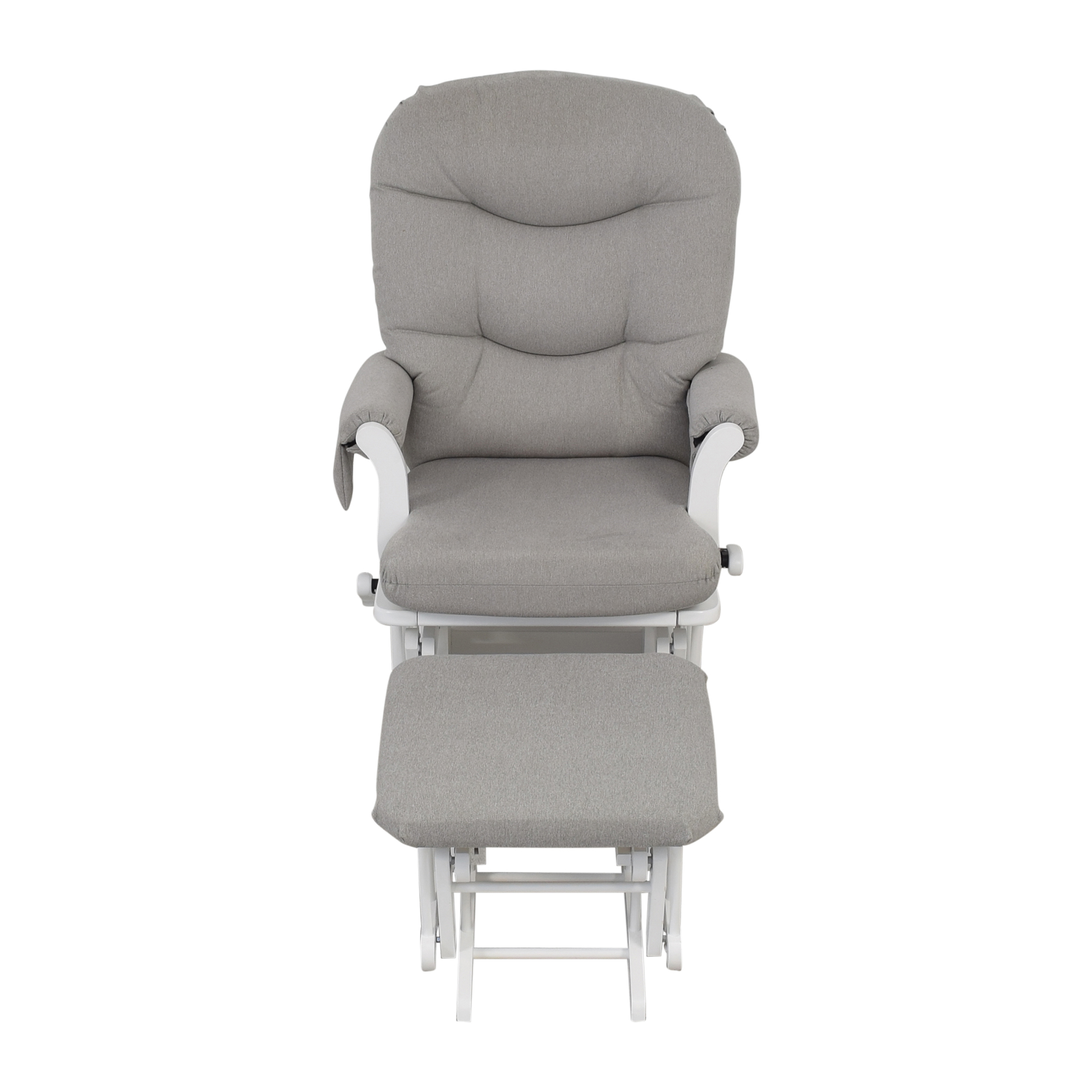 Dutailier Dutailier Multi-Position Reclining Sleigh Glider and Nursing Ottoman second hand
