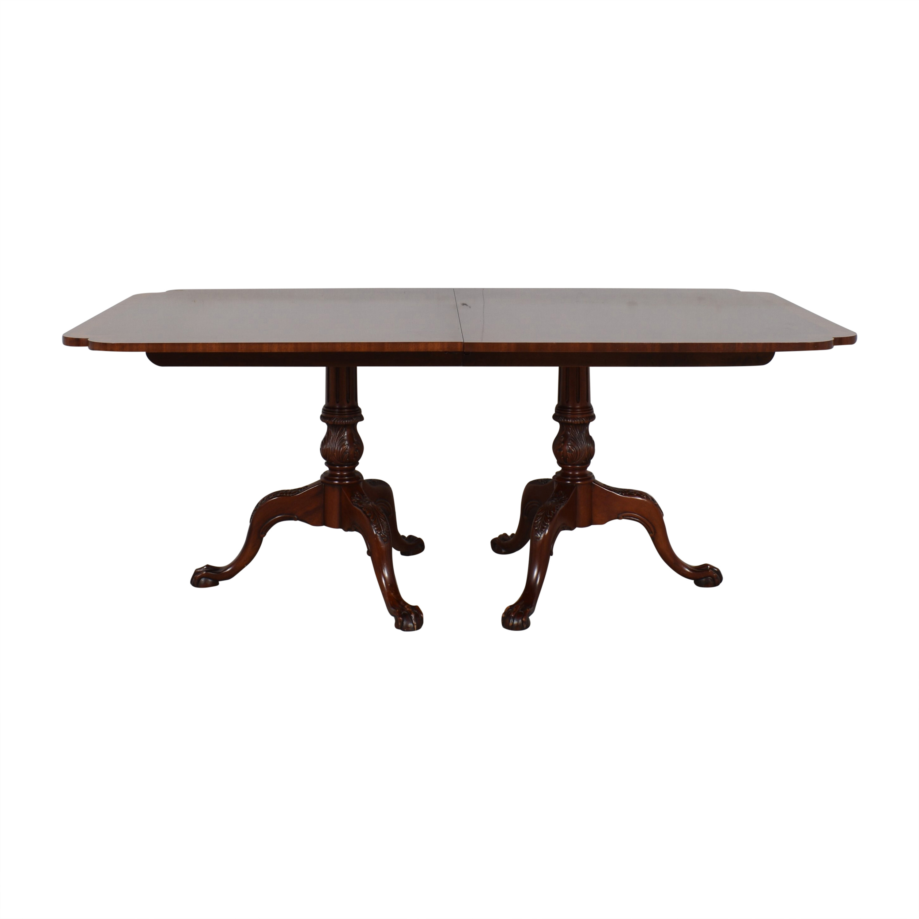 buy Hickory Chair Mount Vernon Dinner Table Hickory Chair Dinner Tables