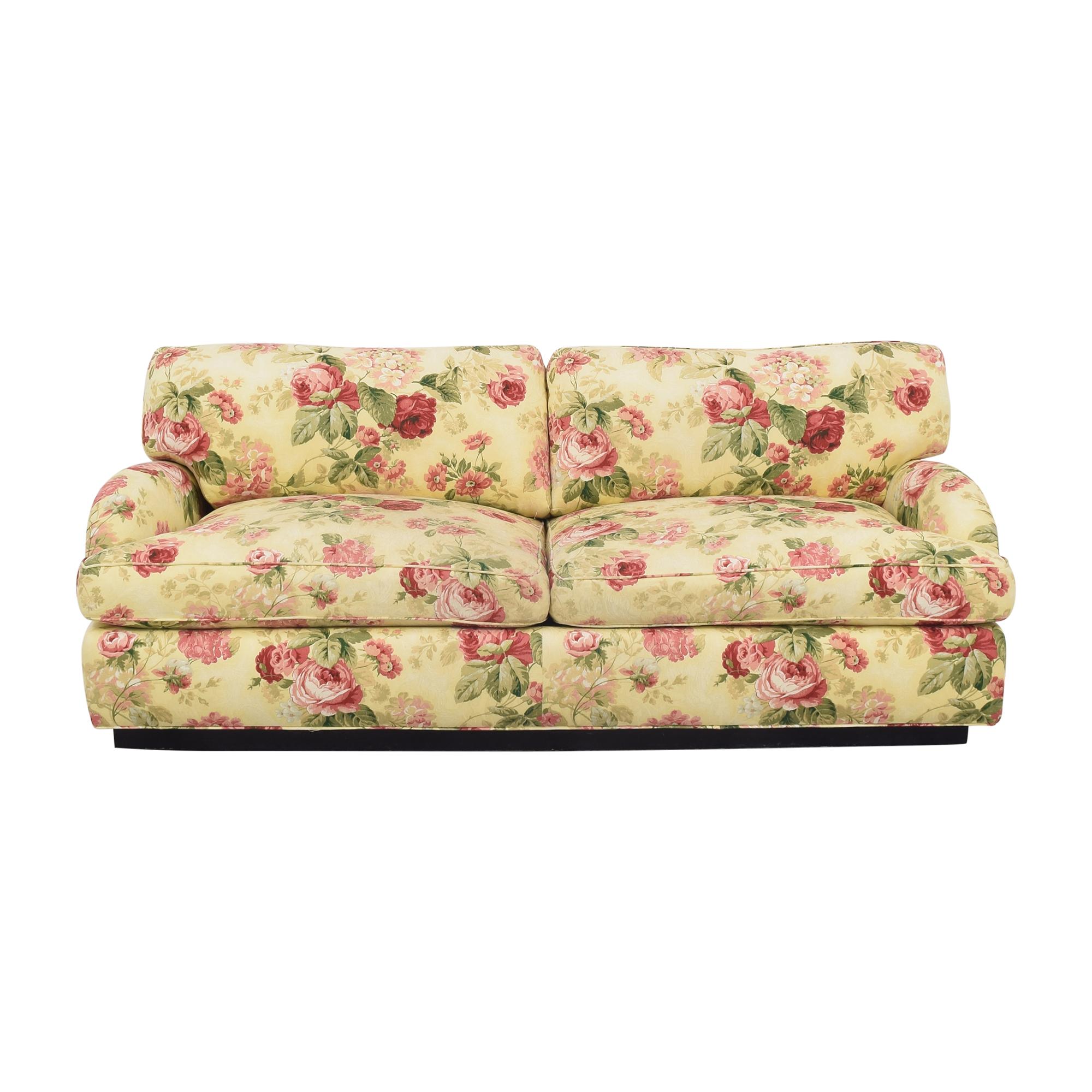 Greenbaum Interiors Greenbaum Two Cushion Sofa Classic Sofas