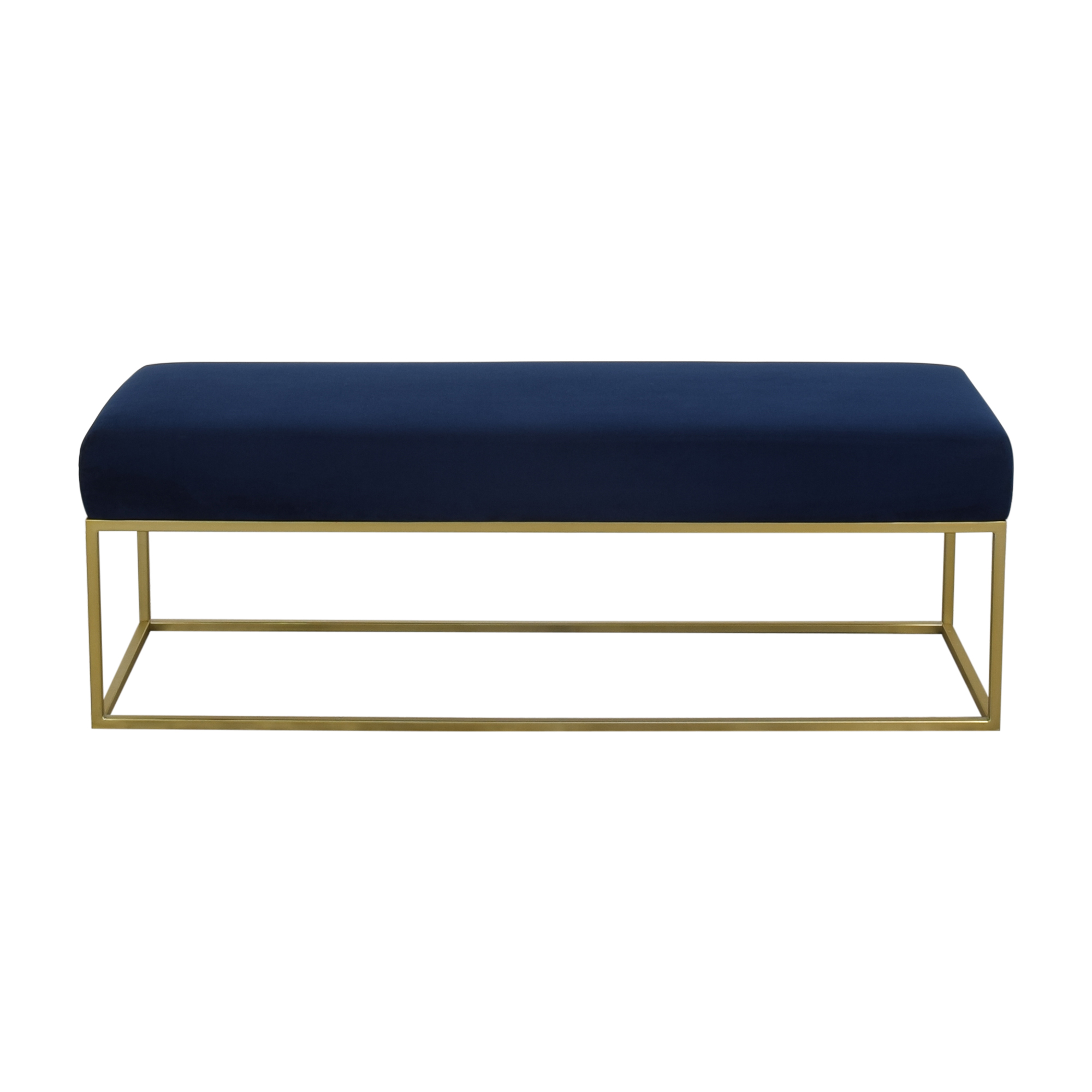 West Elm Box Frame Upholstered Bench / Benches