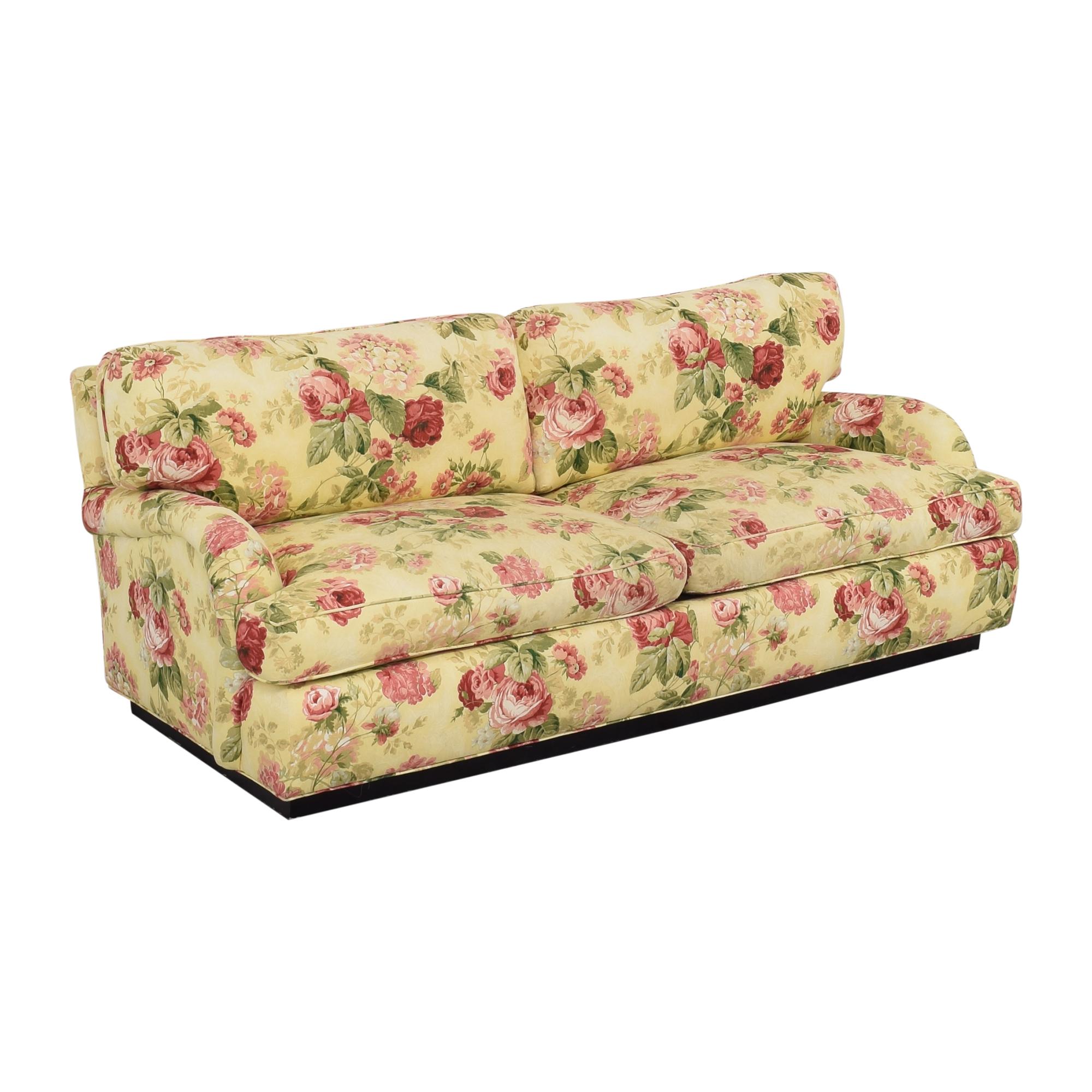 buy Greenbaum Two Cushion Sofa Greenbaum Interiors Sofas