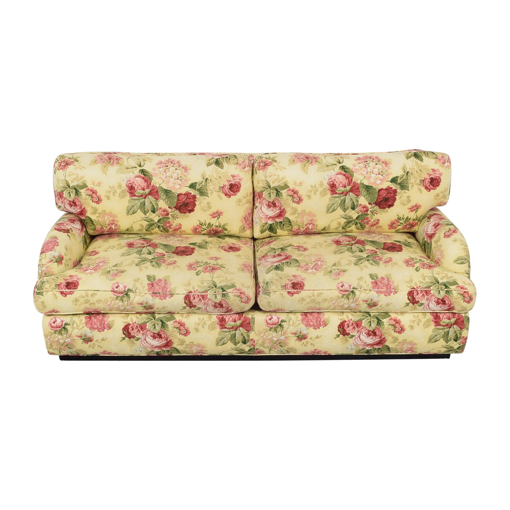 Greenbaum Interiors Greenbaum Two Cushion Sofa pa