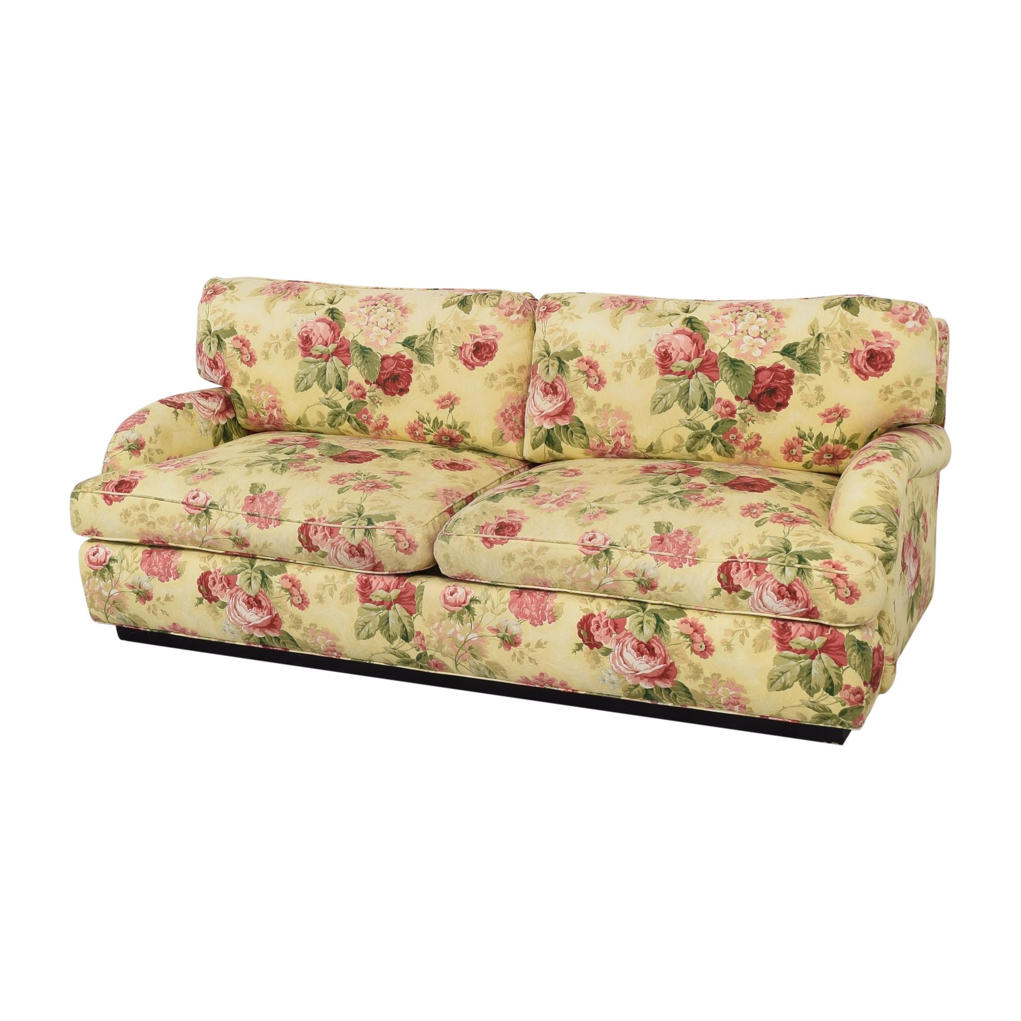 Greenbaum Interiors Greenbaum Two Cushion Sofa
