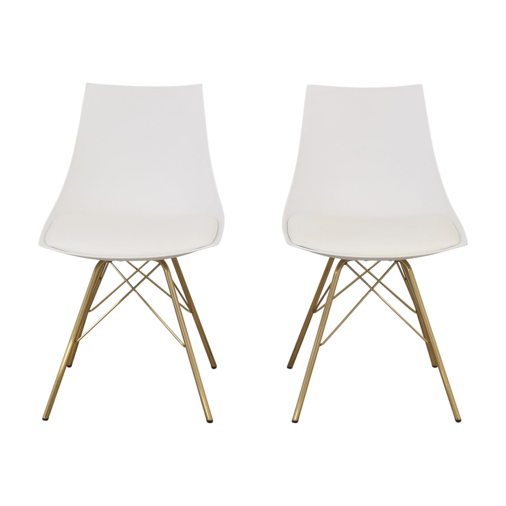 shop Modern Dining Chairs with Padded Seat  Dining Chairs