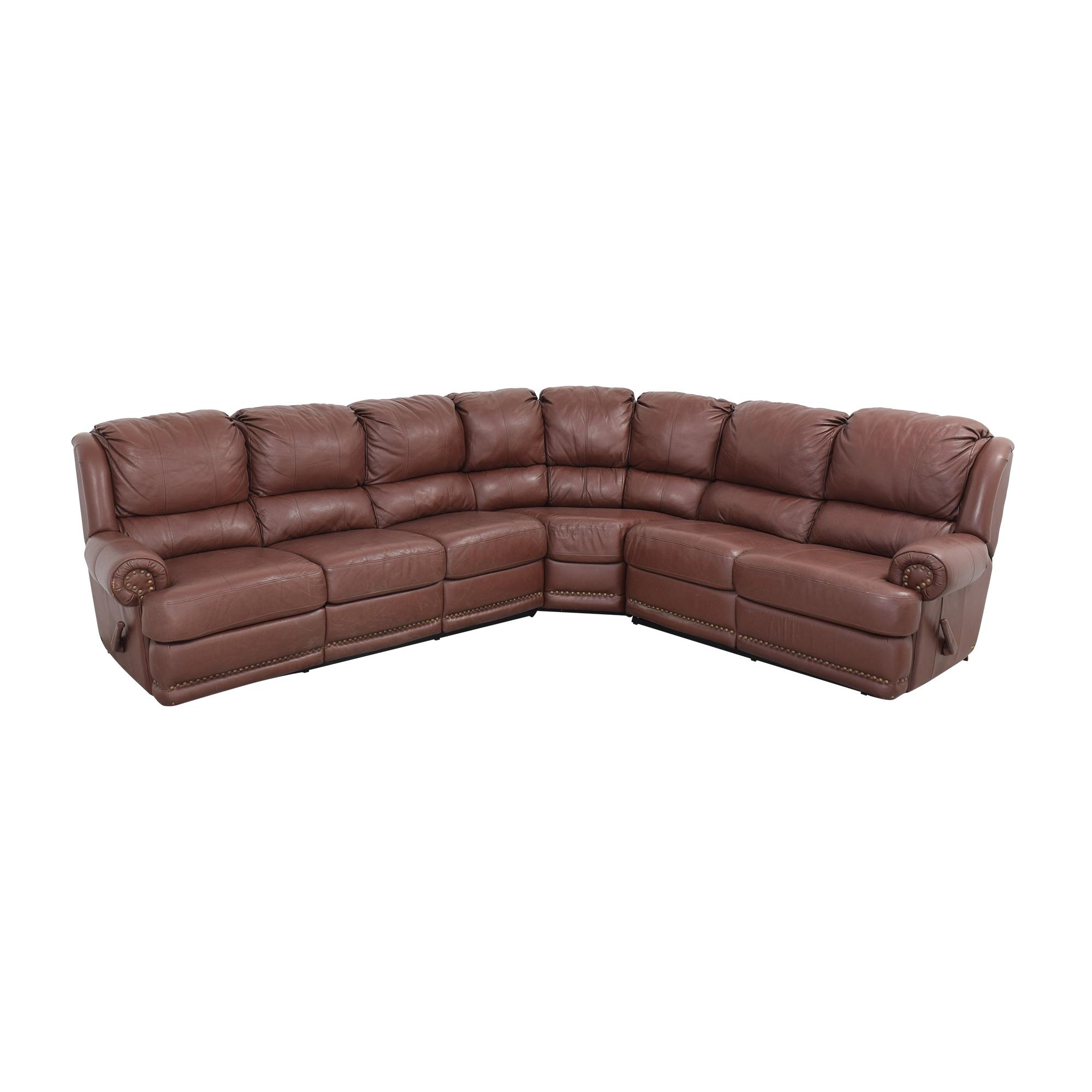 Elran Elran Sectional Sofa with Recliner discount