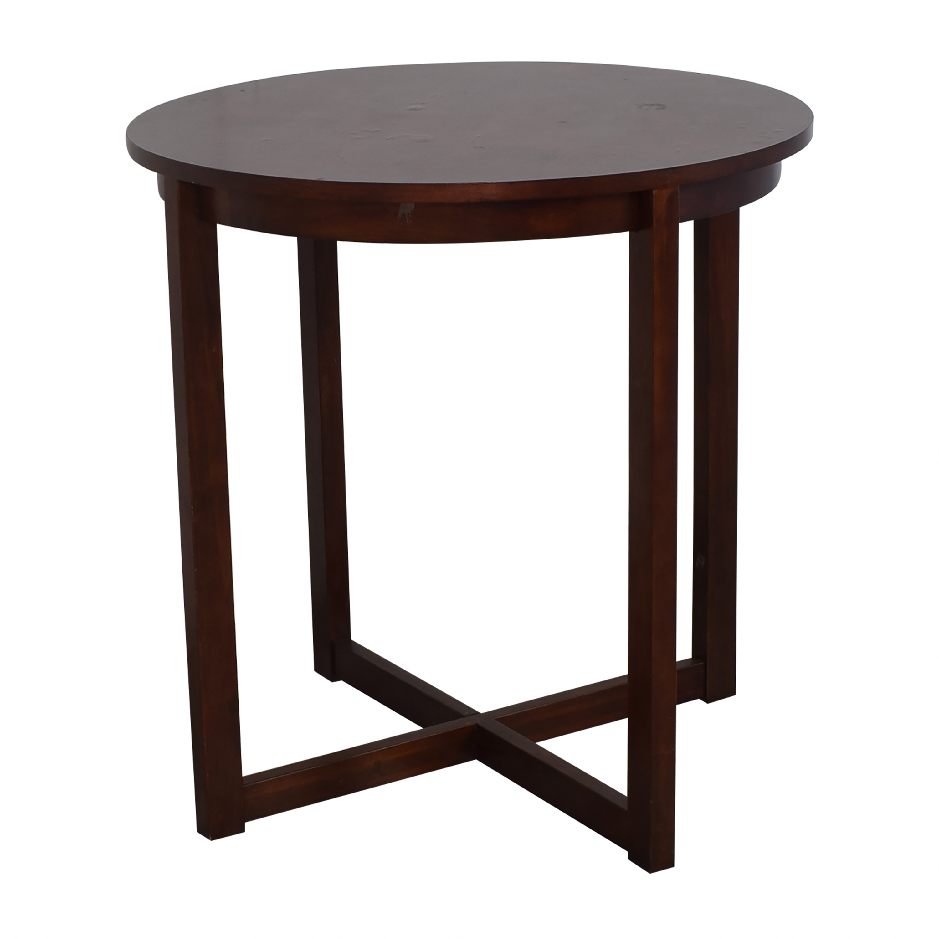 Raymour & Flanigan Raymour & Flanigan Round Table and Stools Tables