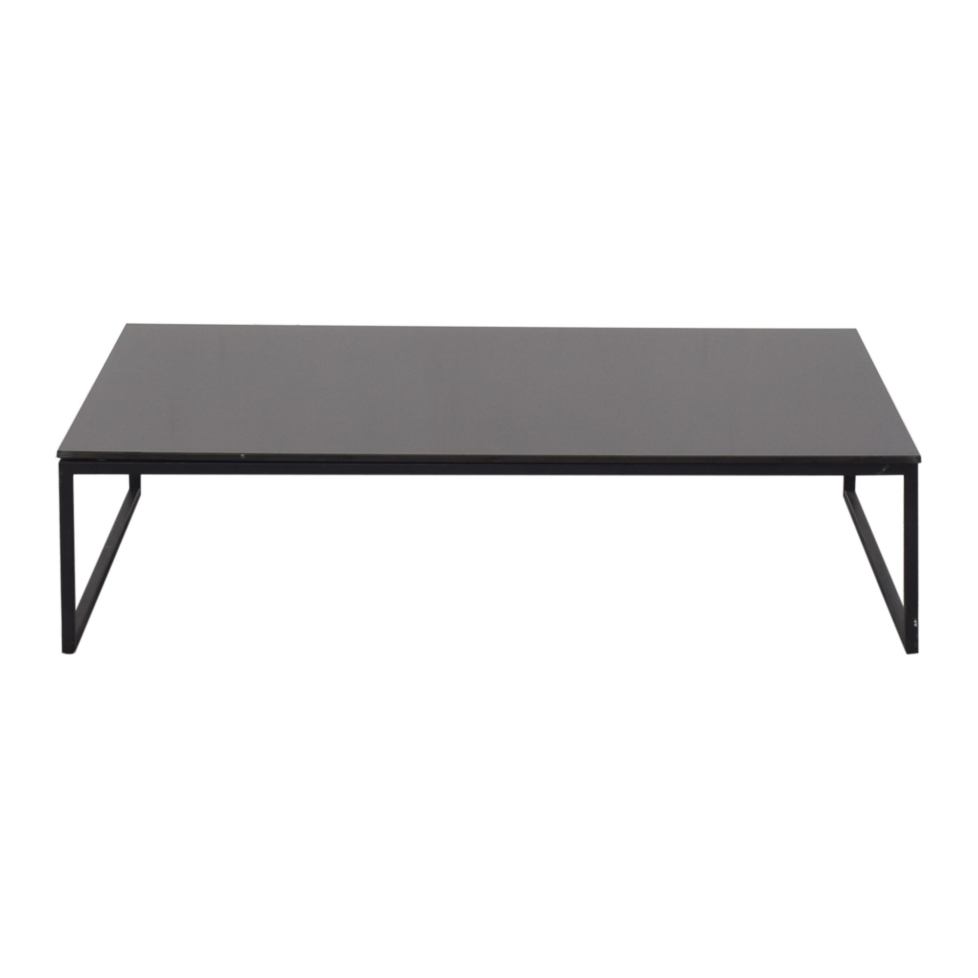 Modern Rectangular Coffee Table Tables