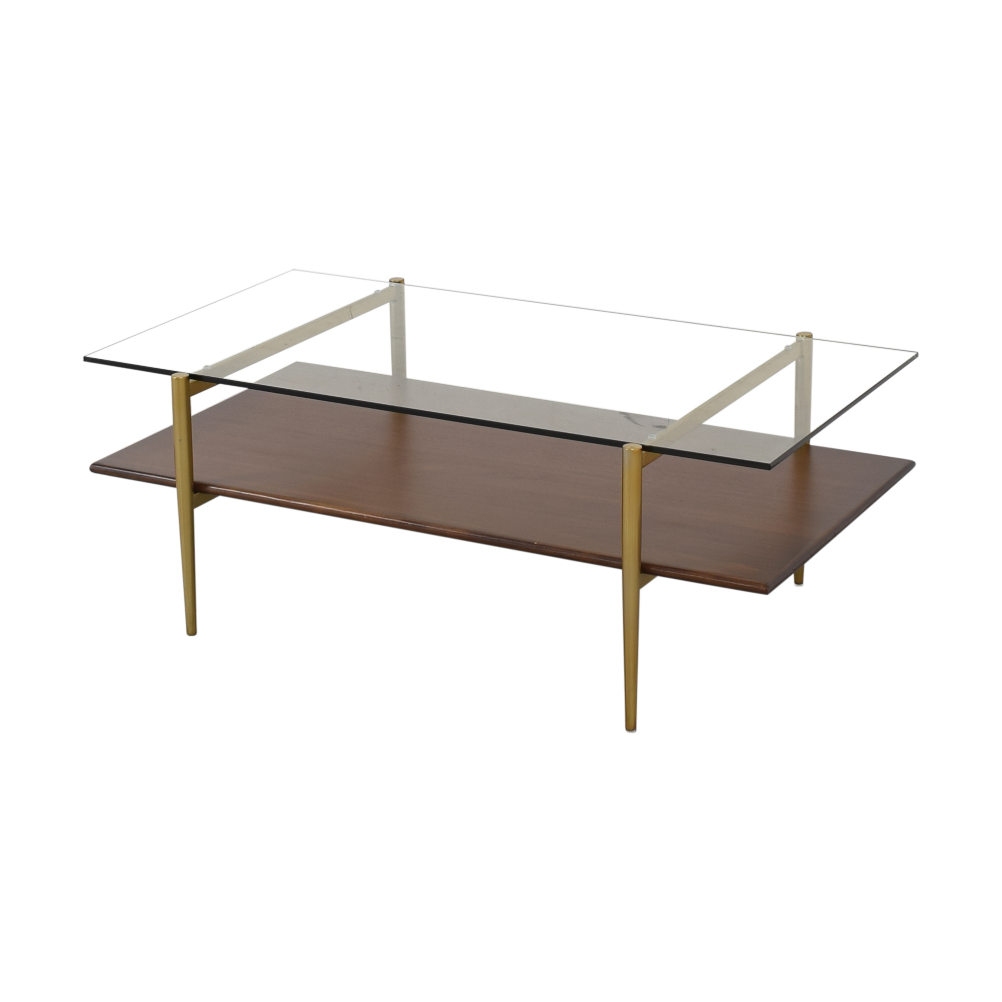 West Elm West Elm Mid-Century Art Display Coffee Table nyc