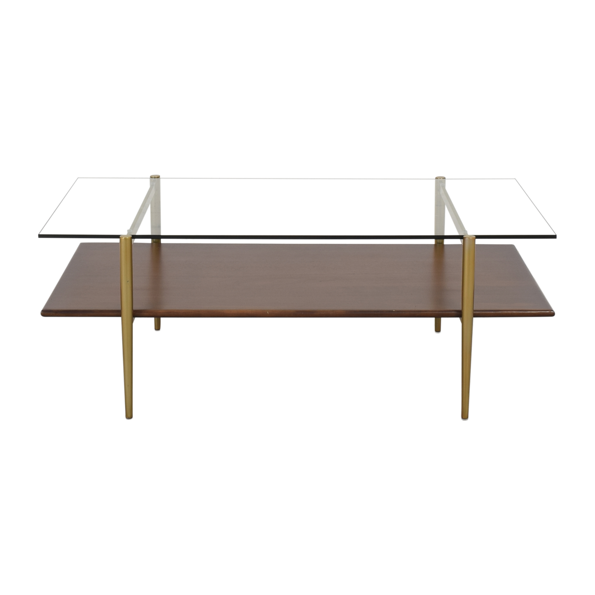 West Elm West Elm Mid-Century Art Display Coffee Table second hand
