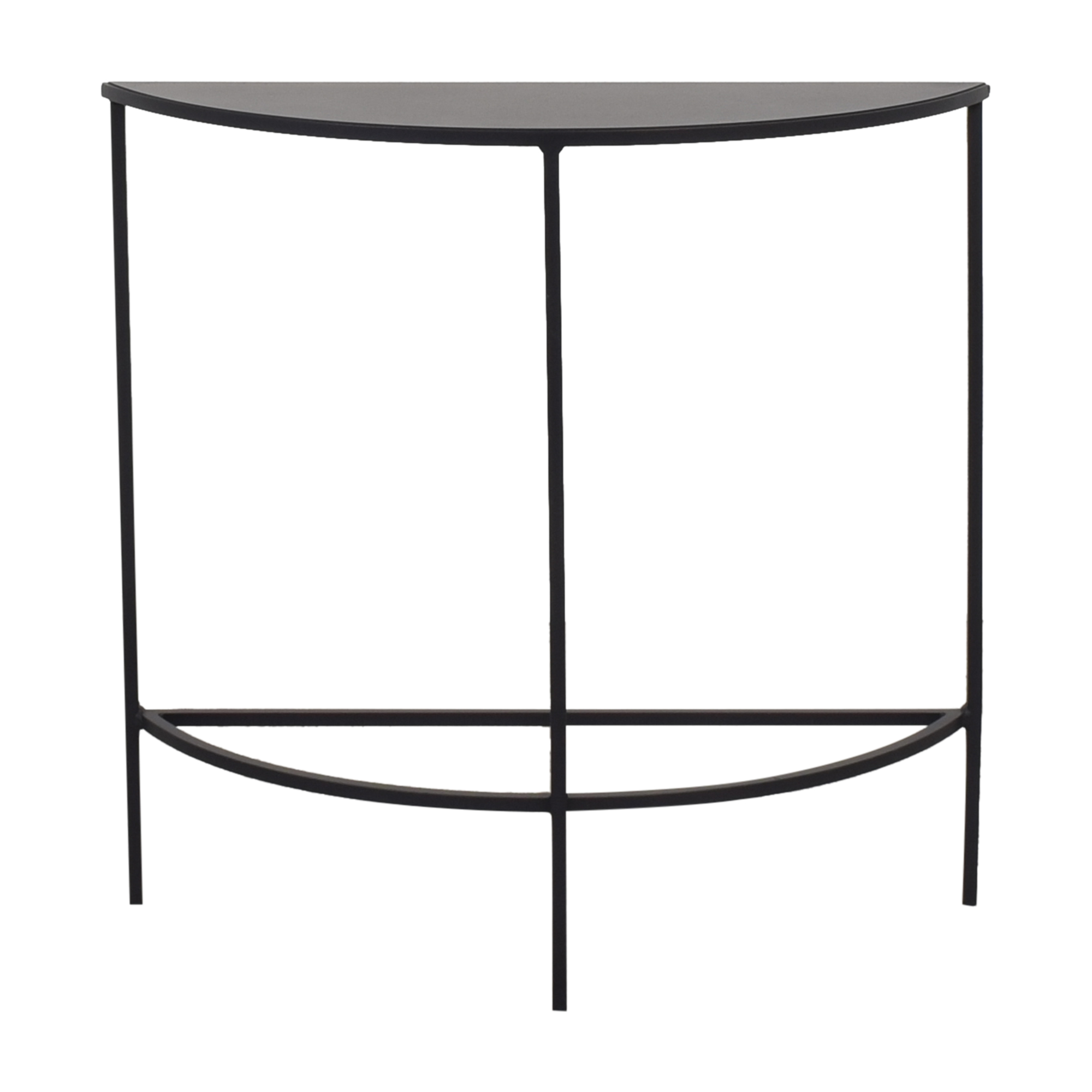 Room & Board Room & Board Slim Half Round Console Table