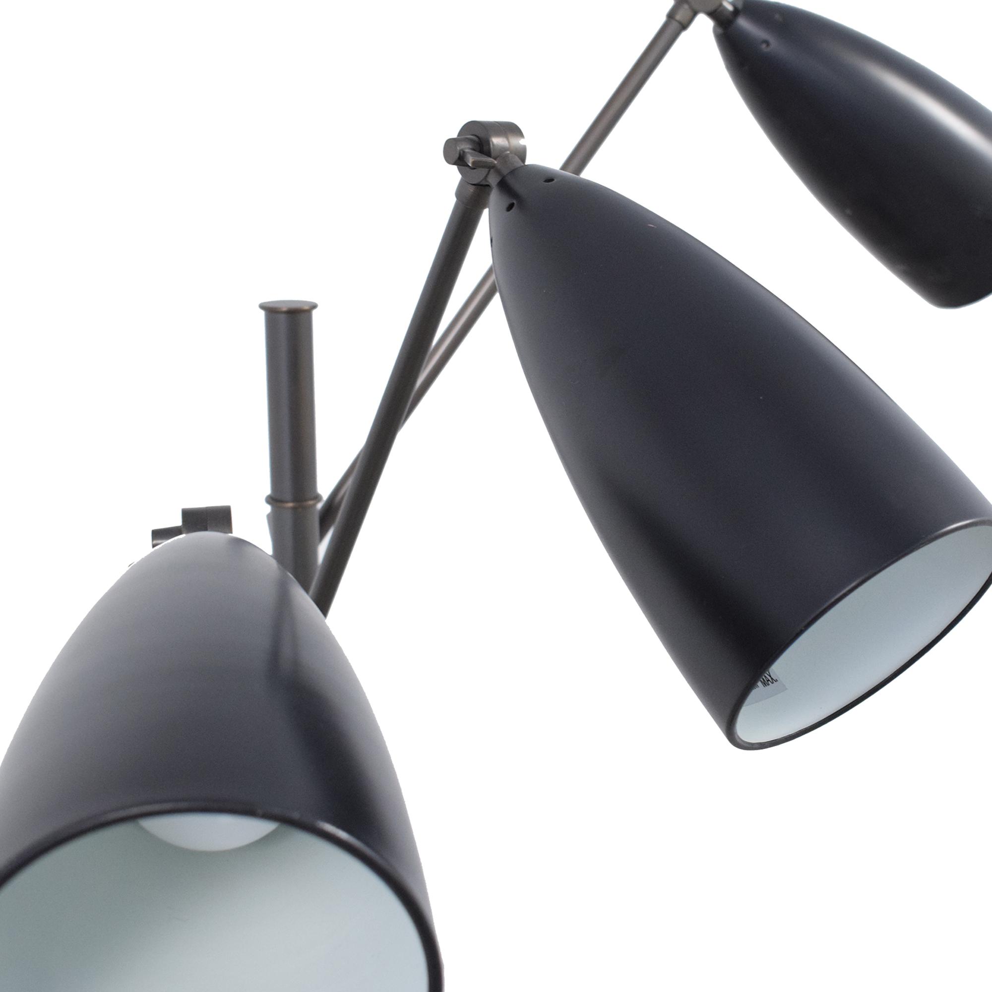 Organic Modernism Organic Modernism Trilight Floor Lamp pa