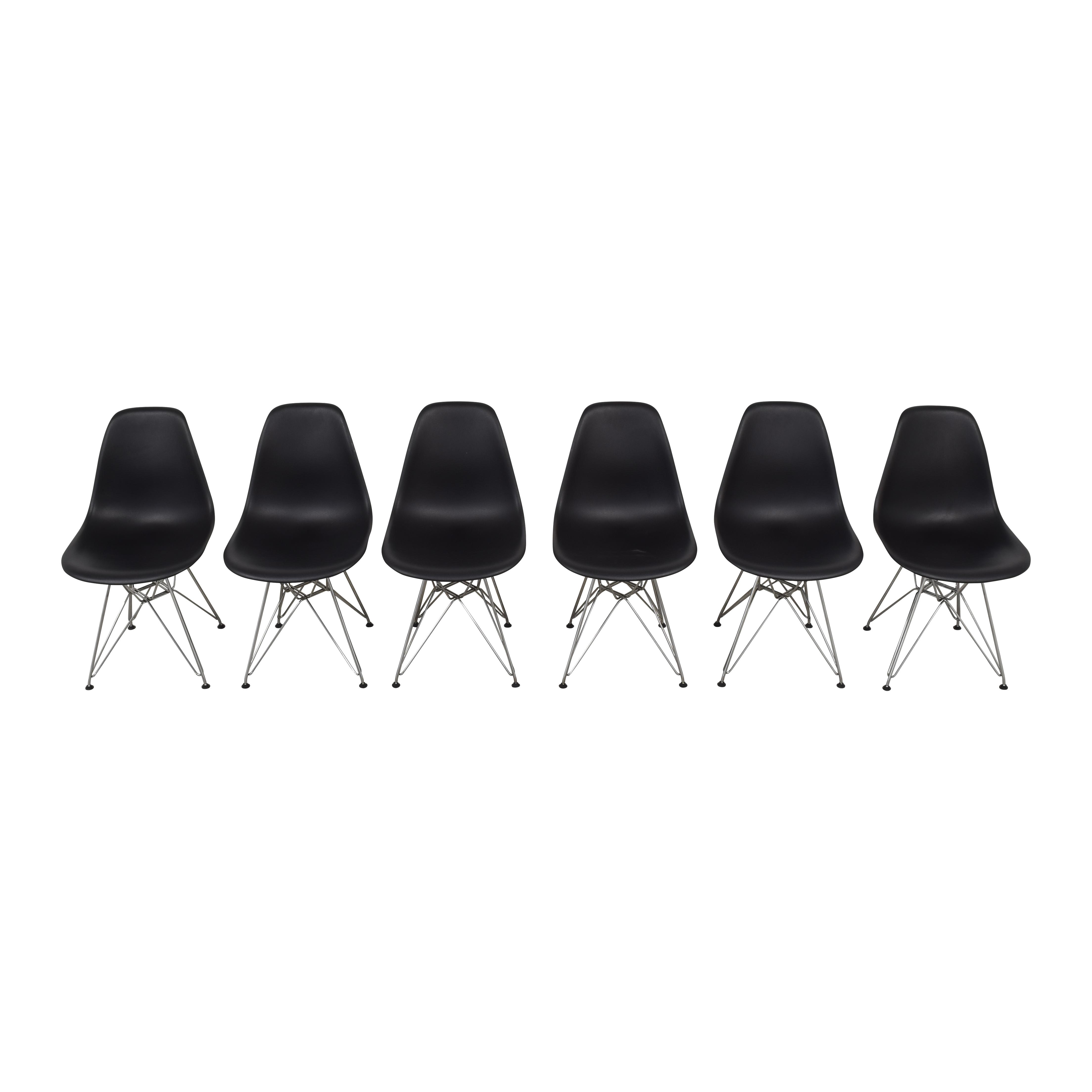 Herman Miller Herman Miller Eames Molded Plastic Wirebase Chairs