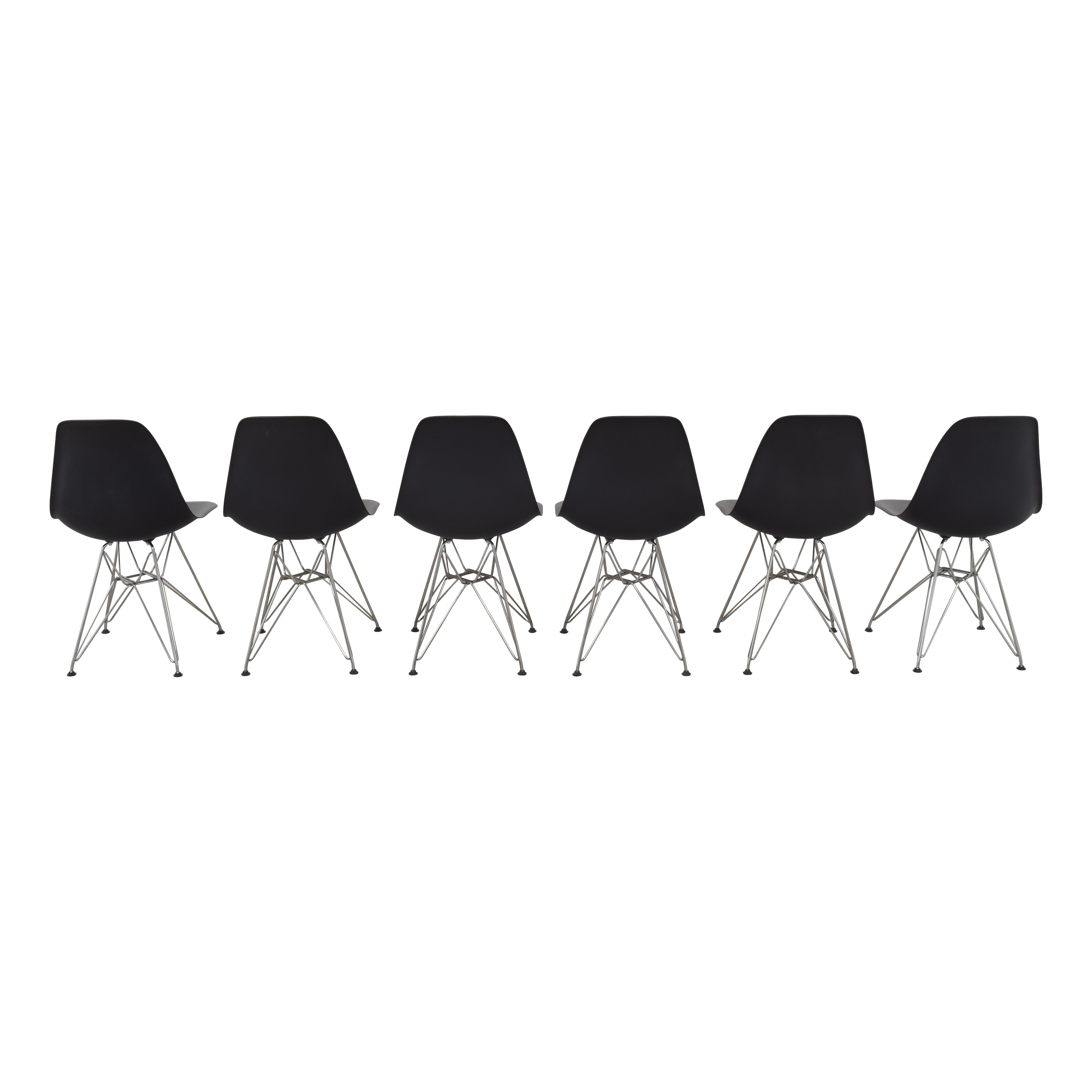 buy Herman Miller Herman Miller Eames Molded Plastic Wirebase Chairs online