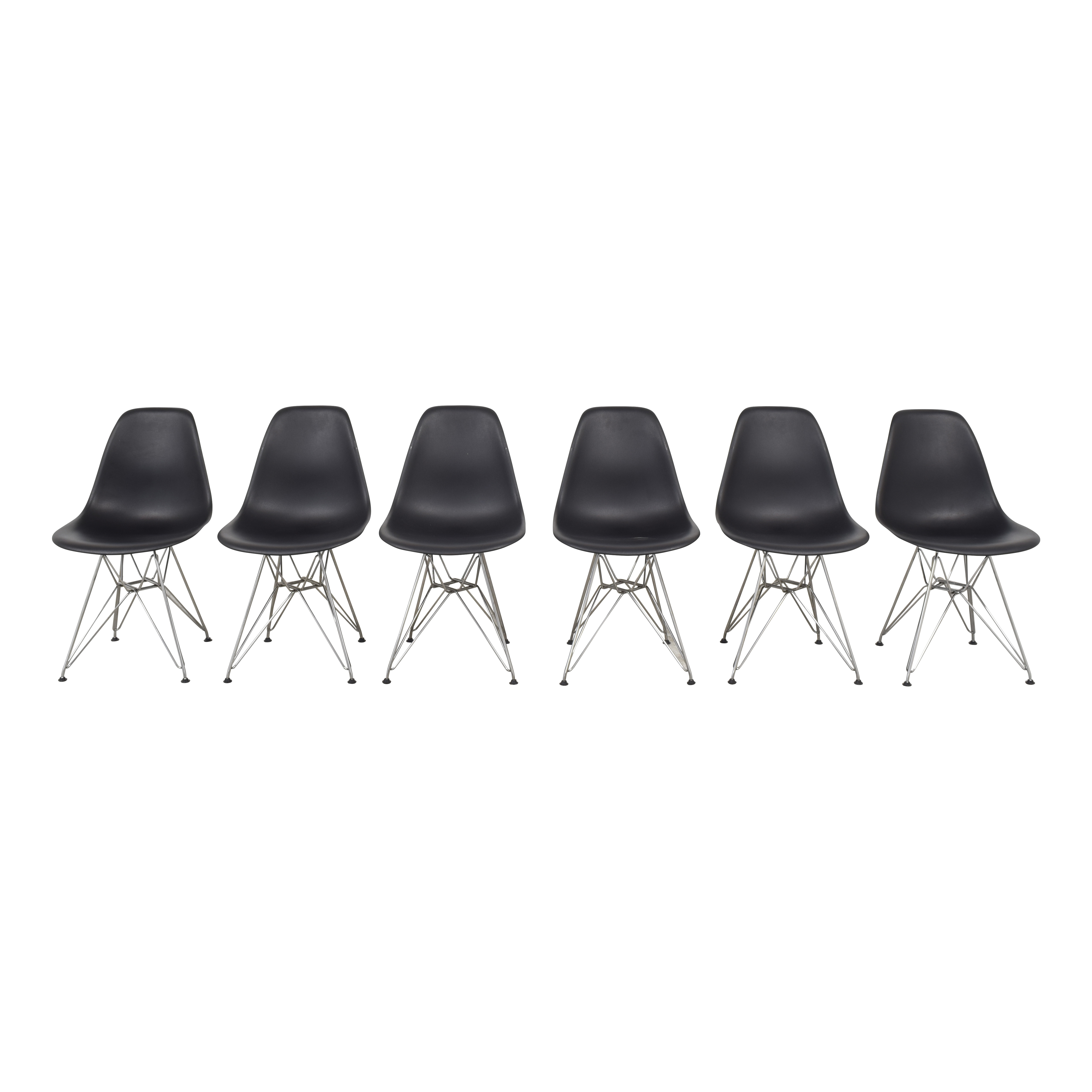 buy Herman Miller Eames Molded Plastic Wirebase Chairs Herman Miller Chairs