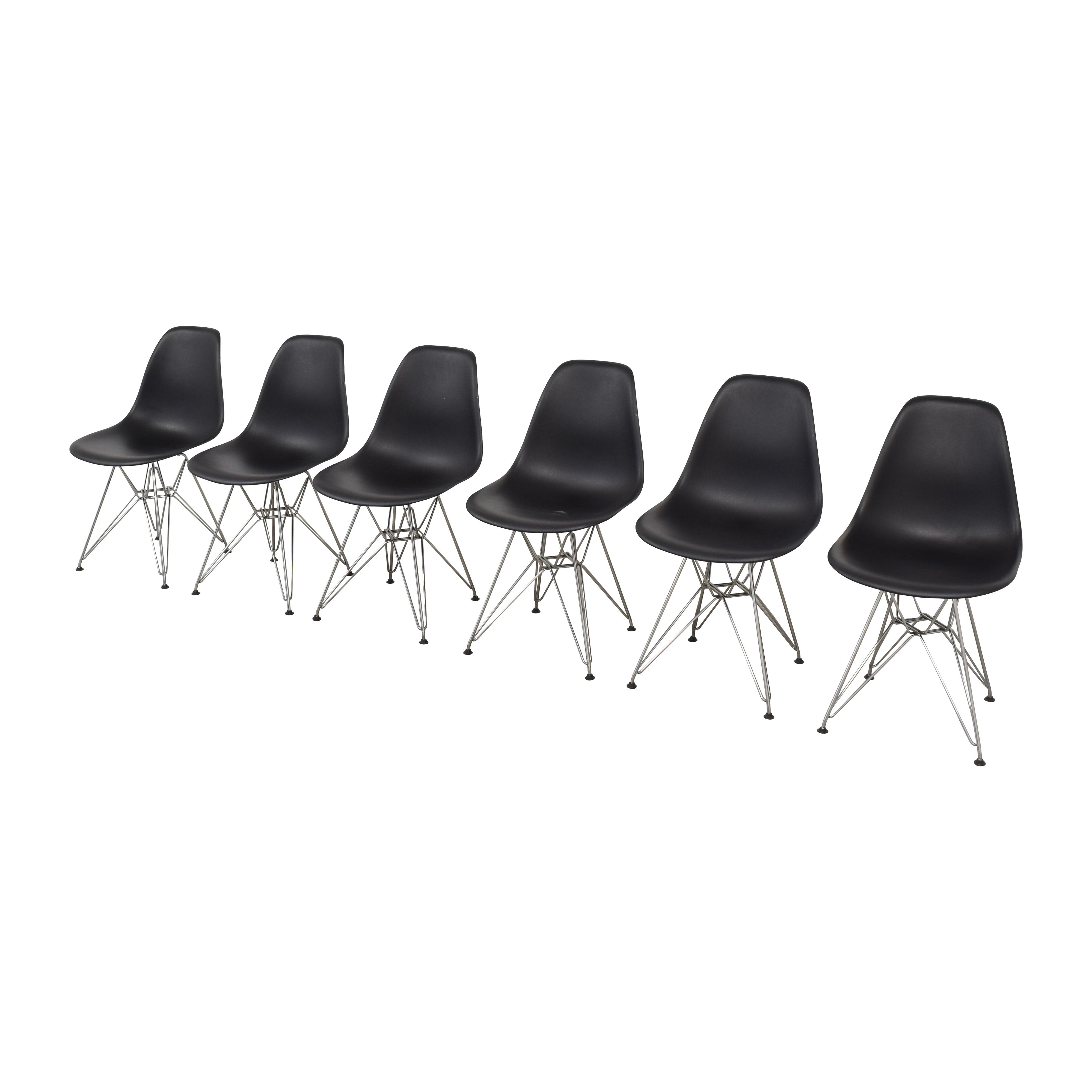 Herman Miller Herman Miller Eames Molded Plastic Wirebase Chairs discount