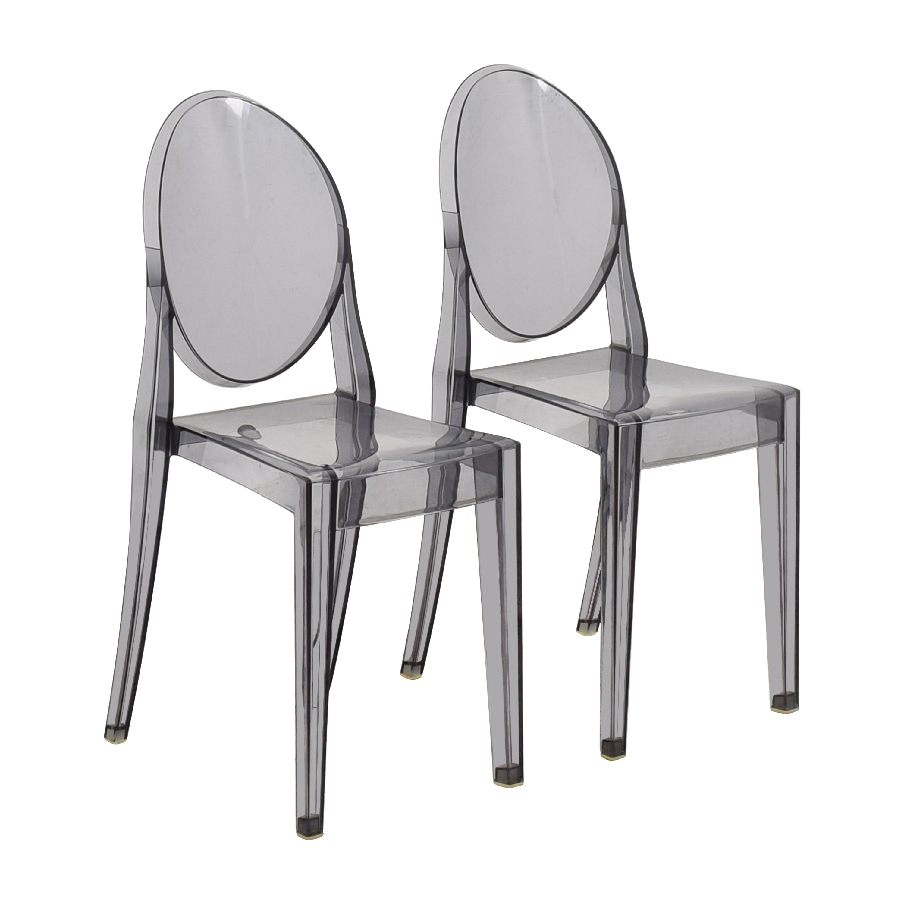 Kartell Design Within Reach Kartell Victoria Ghost Chairs for sale