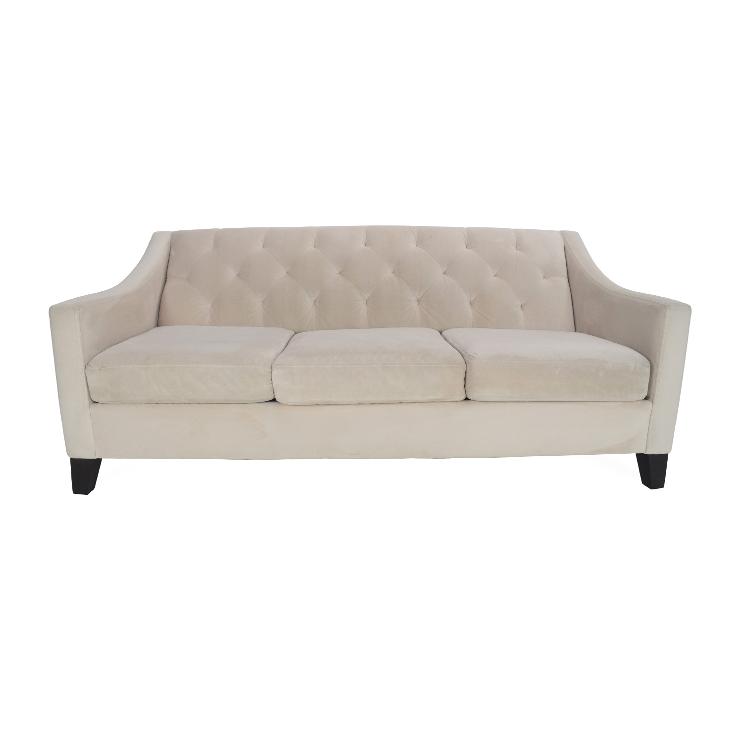 Max Home Furniture Macyu0027s Chloe Tufted Sofa On ...