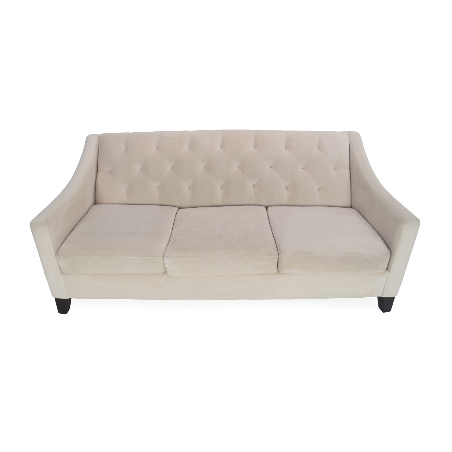 64% OFF Domain Domain Green Skirted Couch Sofas