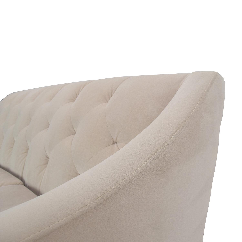 Max Home Furniture Macy s Chloe Tufted Sofa dimensions. 58  OFF   Max Home Furniture Macy s Chloe Tufted Sofa   Sofas