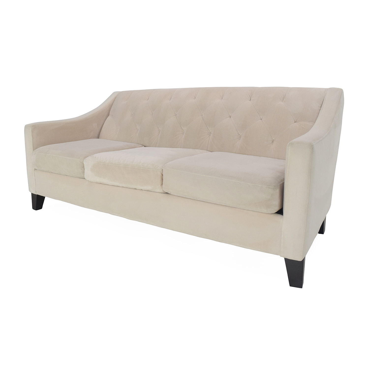 Max Home Furniture Macy s Chloe Tufted Sofa dimensions. 58  OFF   Max Home Furniture Macy s Chloe Tufted Sofa   Sofas
