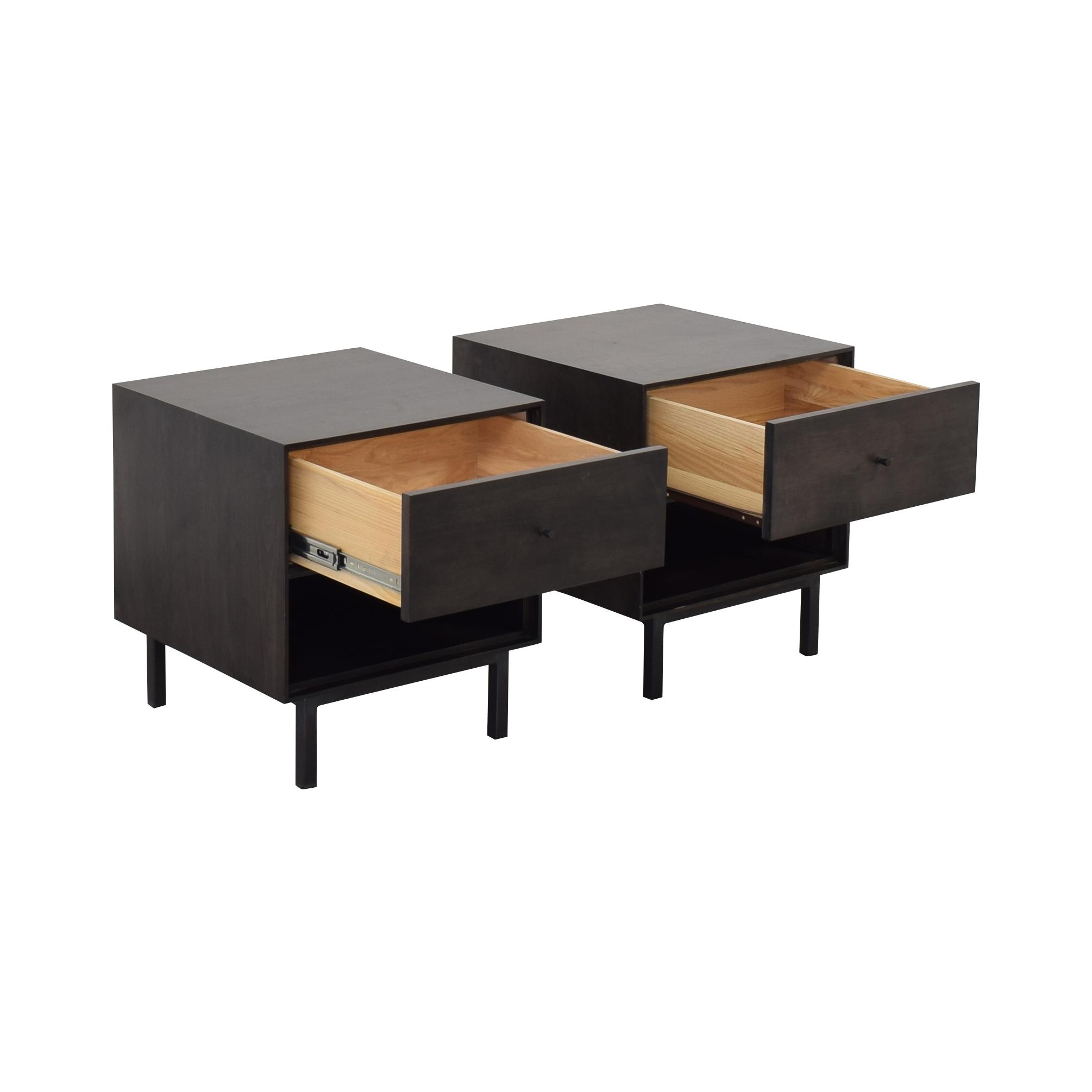 shop Room & Board Hudson Nightstands Room & Board Tables