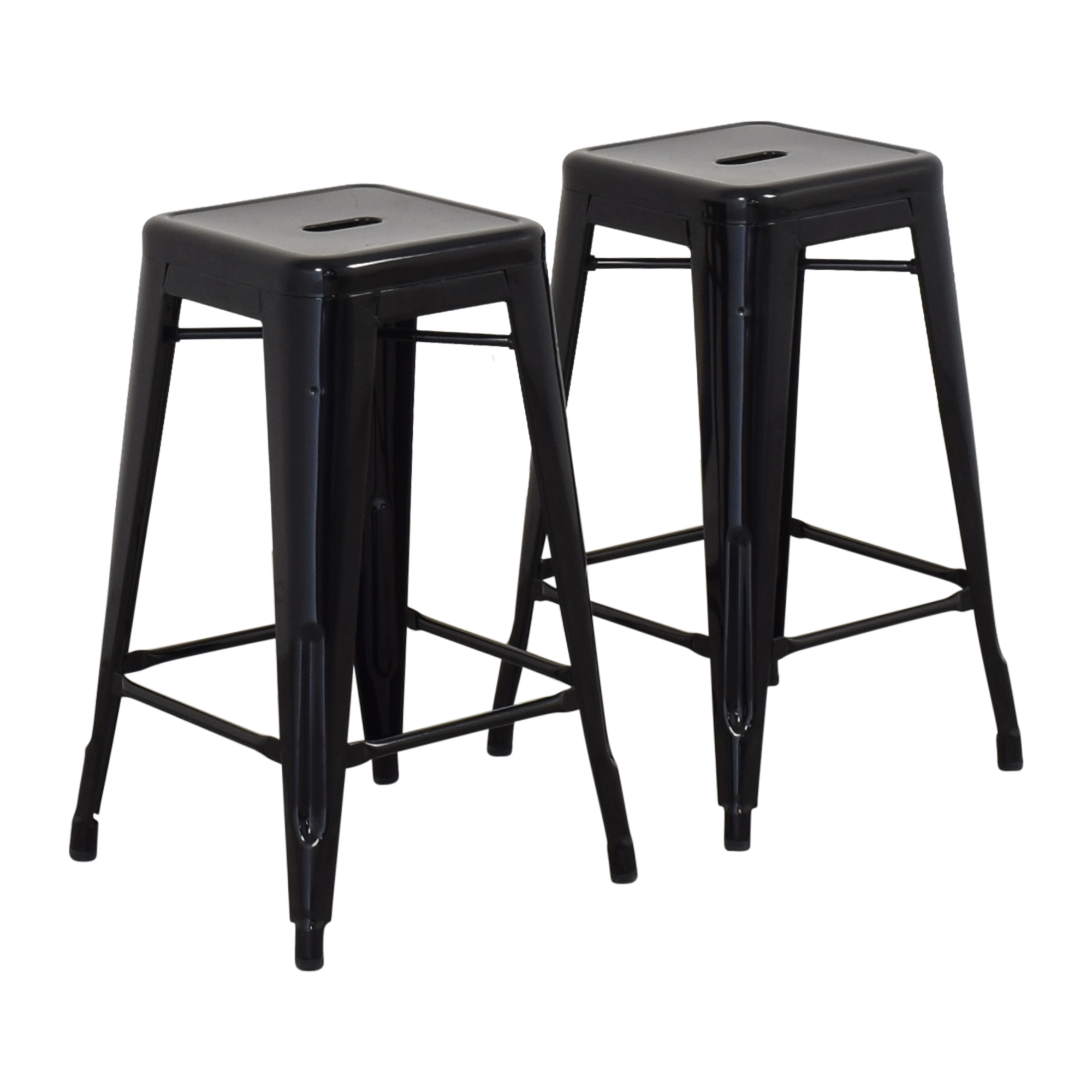 Design Within Reach Design Within Reach Tolix Marais Counter Stools black