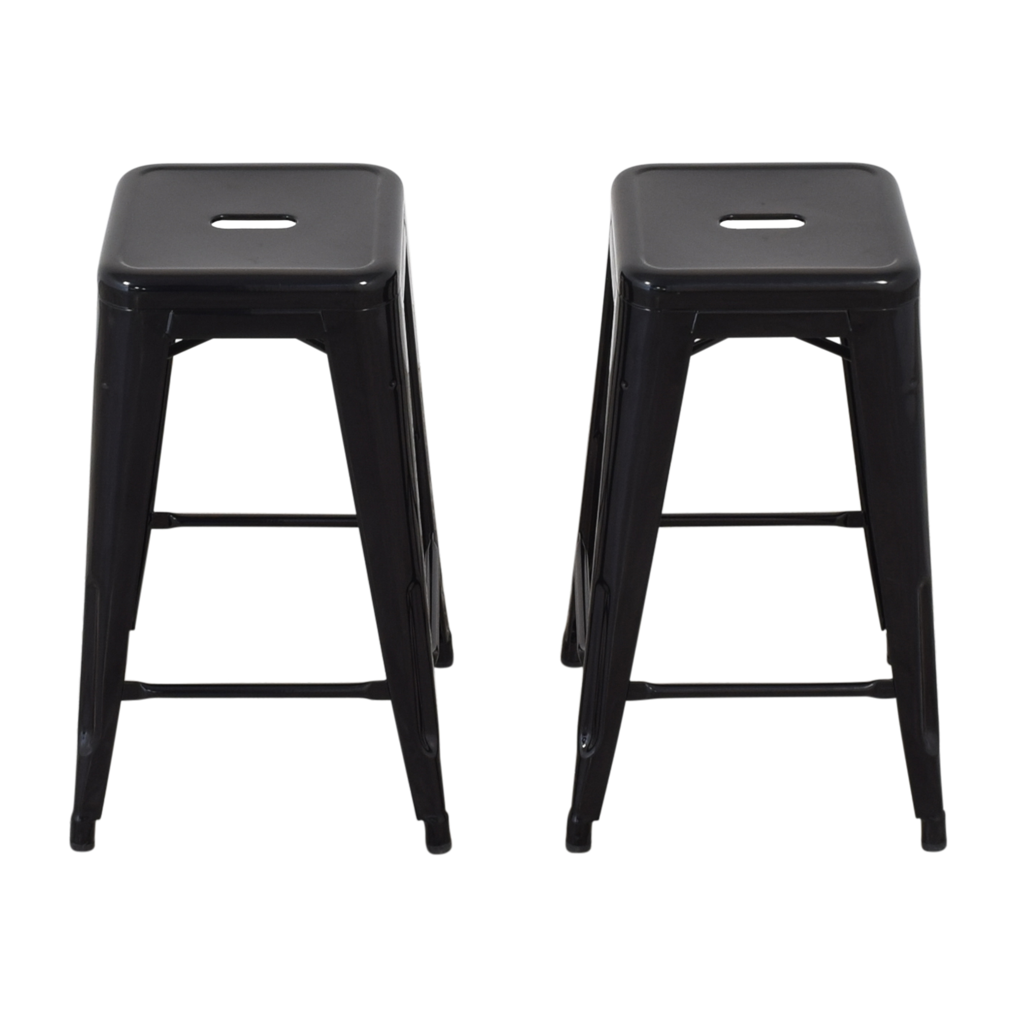 Design Within Reach Design Within Reach Tolix Marais Counter Stools second hand