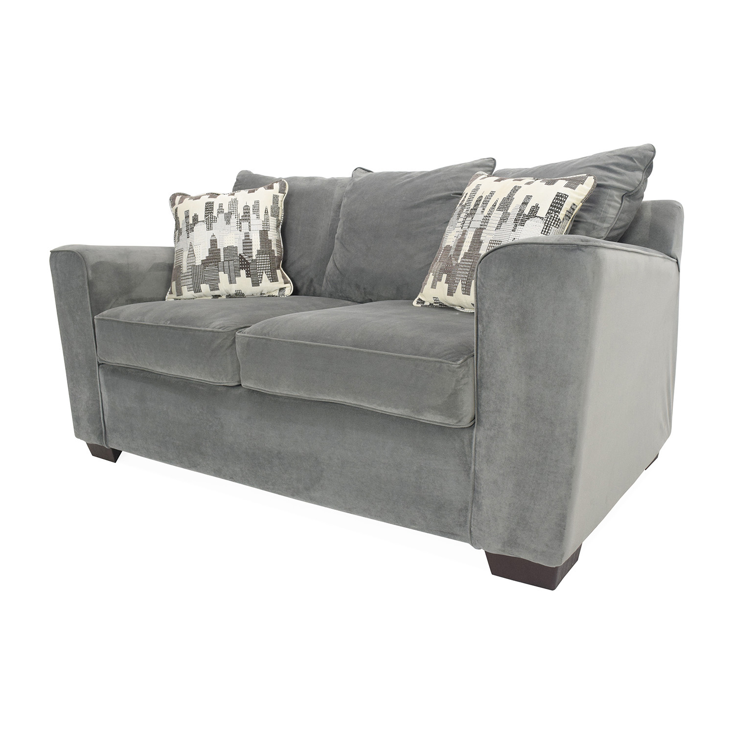 62 Off Bob 39 S Furniture Bob 39 S Comfy Loveseat Sofas