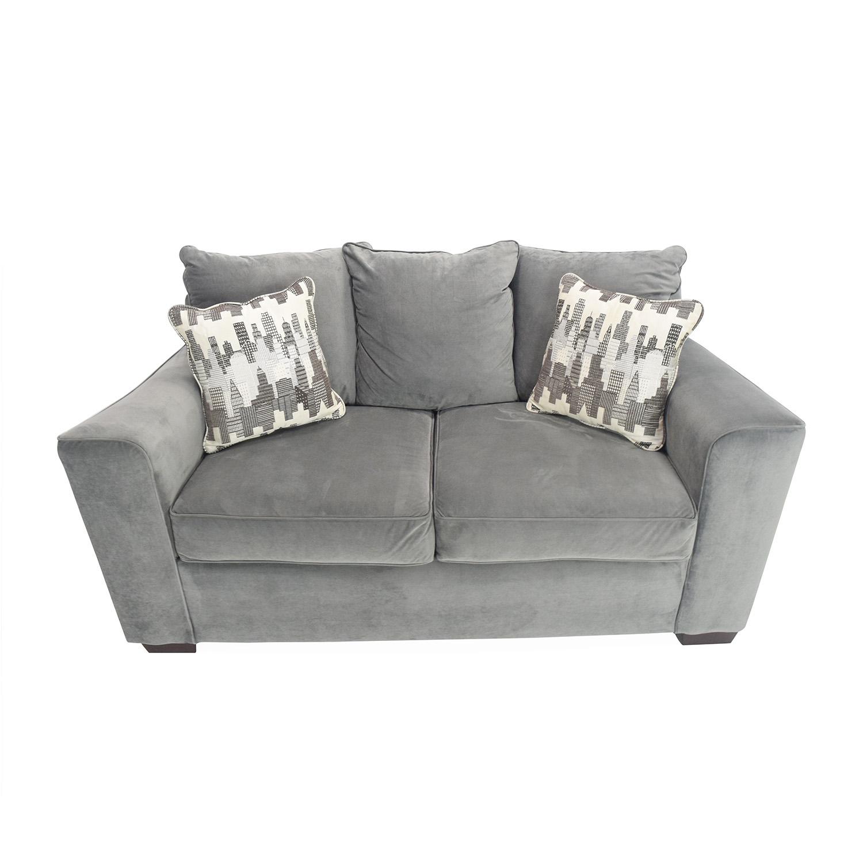 Cool 62 Off Bobs Discount Furniture Bobs Comfy Loveseat Sofas Frankydiablos Diy Chair Ideas Frankydiabloscom