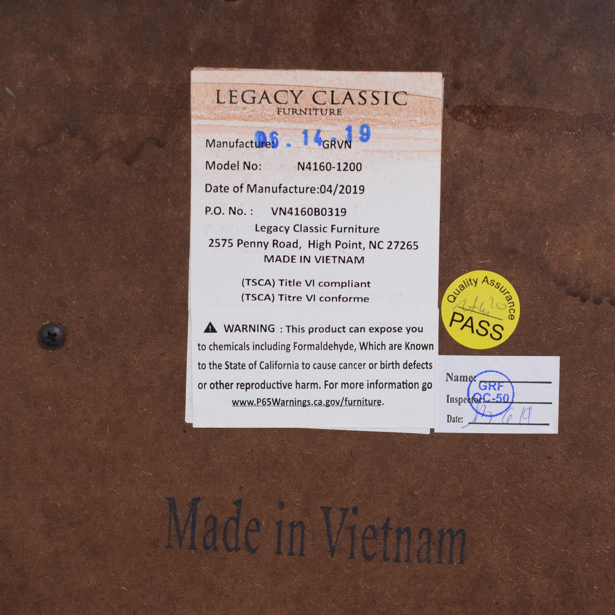Macy's Bordeaux II Ten Drawer Dresser / Storage