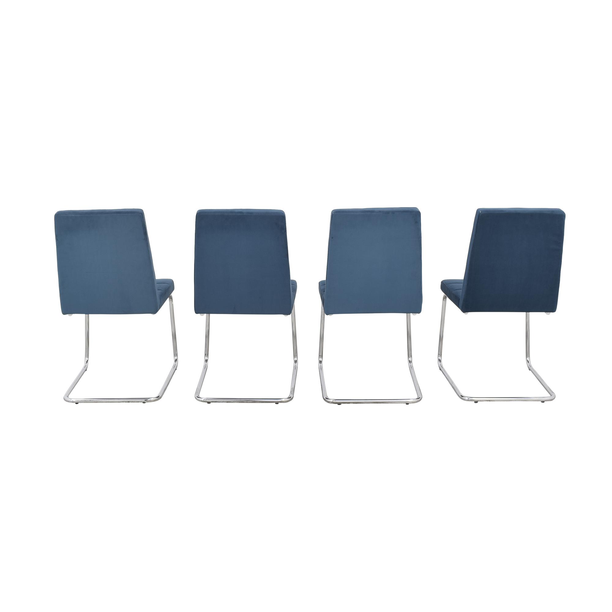 CB2 CB2 Roya Chairs Slate Blue coupon