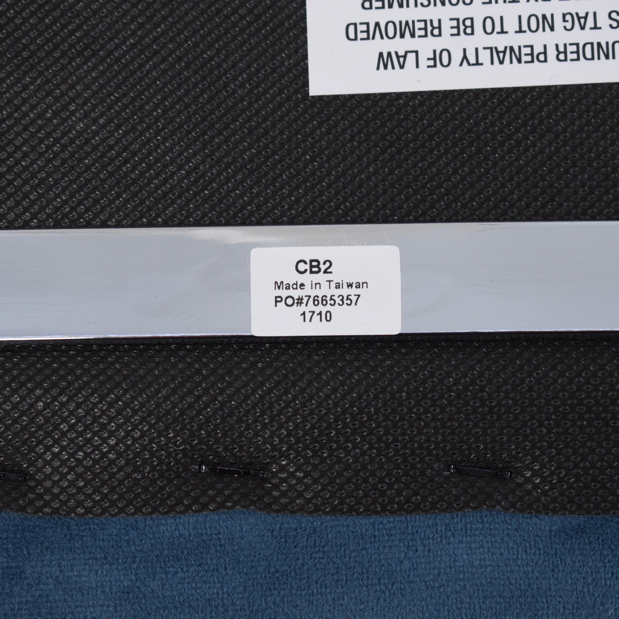 buy CB2 CB2 Roya Chairs Slate Blue online