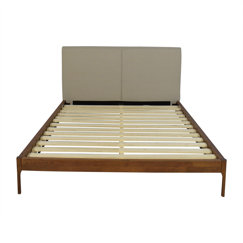 buy Baxton Studio Queen Upholstered Platform Bed Baxton Studio