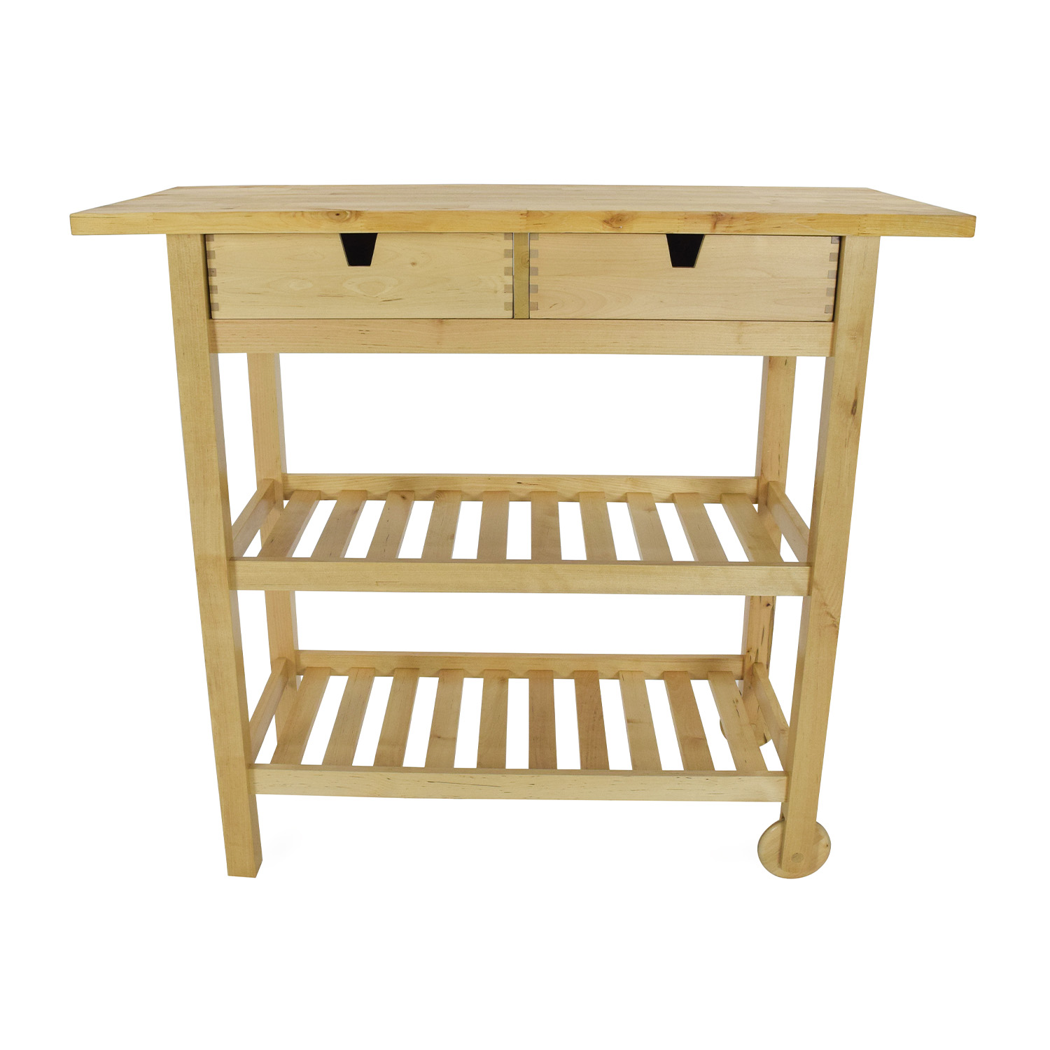 56% off - ikea forhoja kitchen cart / tables