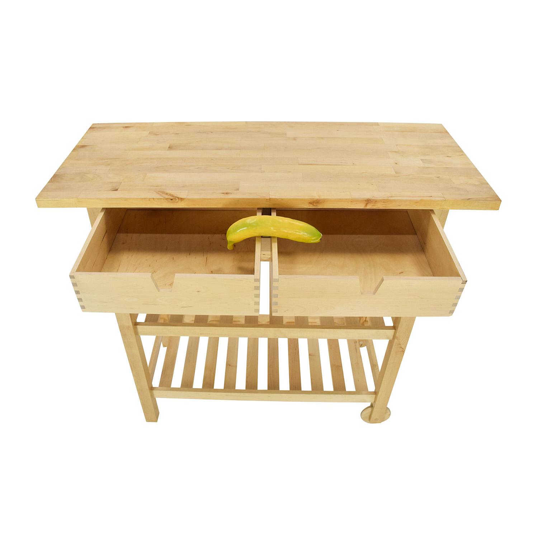 56 OFF IKEA Forhoja Kitchen Cart Tables : second hand forhoja kitchen cart from furnishare.com size 1500 x 1500 jpeg 251kB