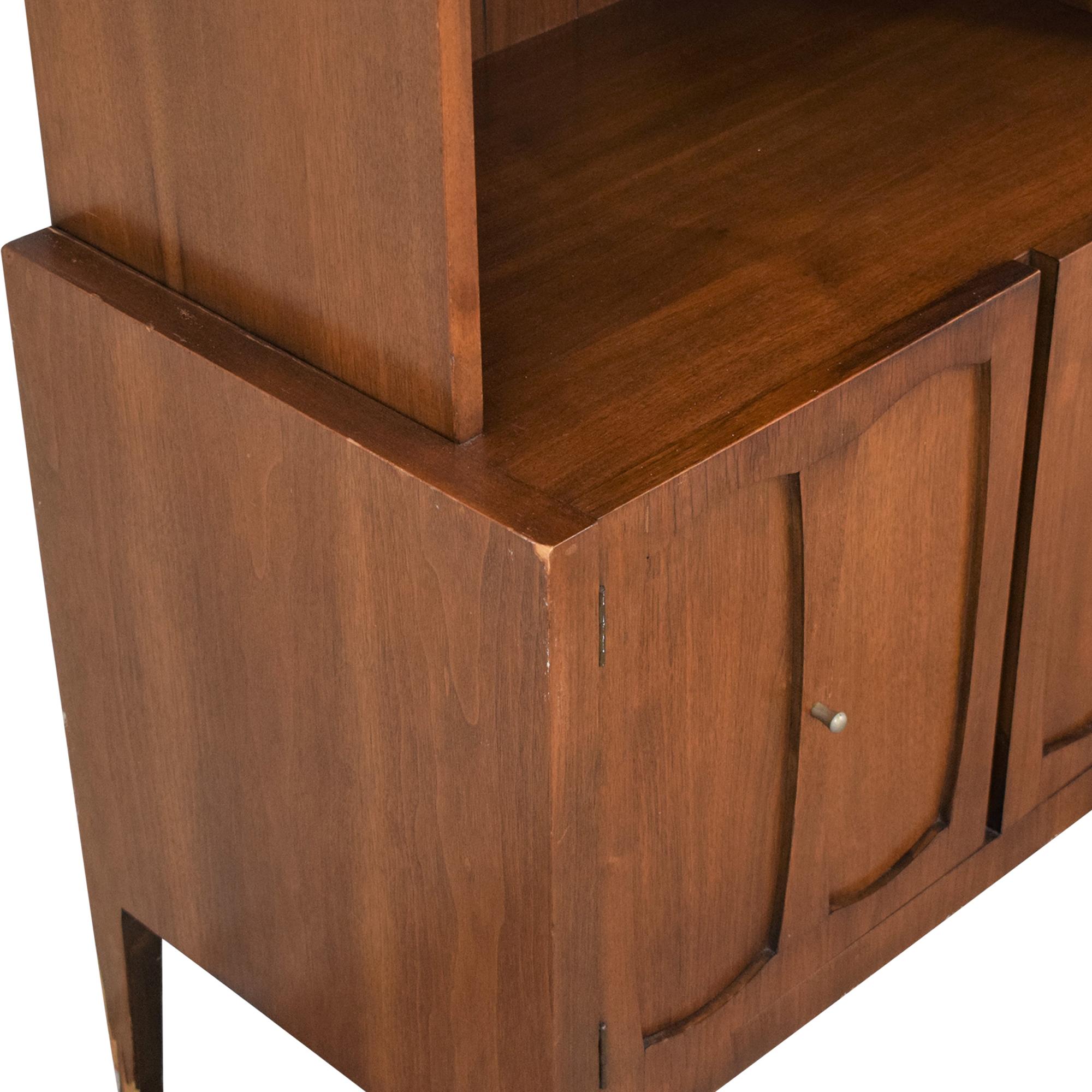 Mid Century Multipurpose Storage Cabinet brown