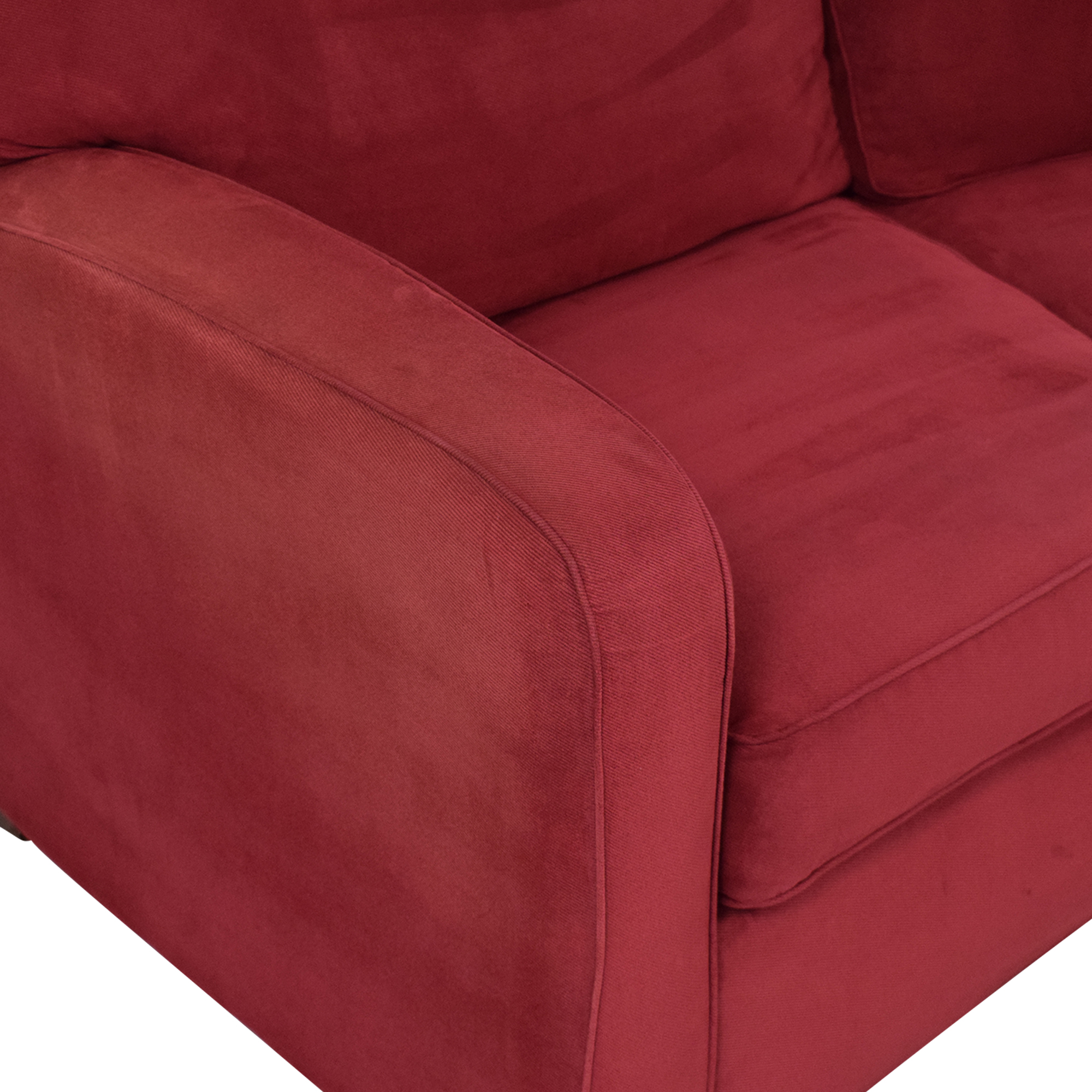 buy United Furniture Curved Sectional Sofa United Furniture