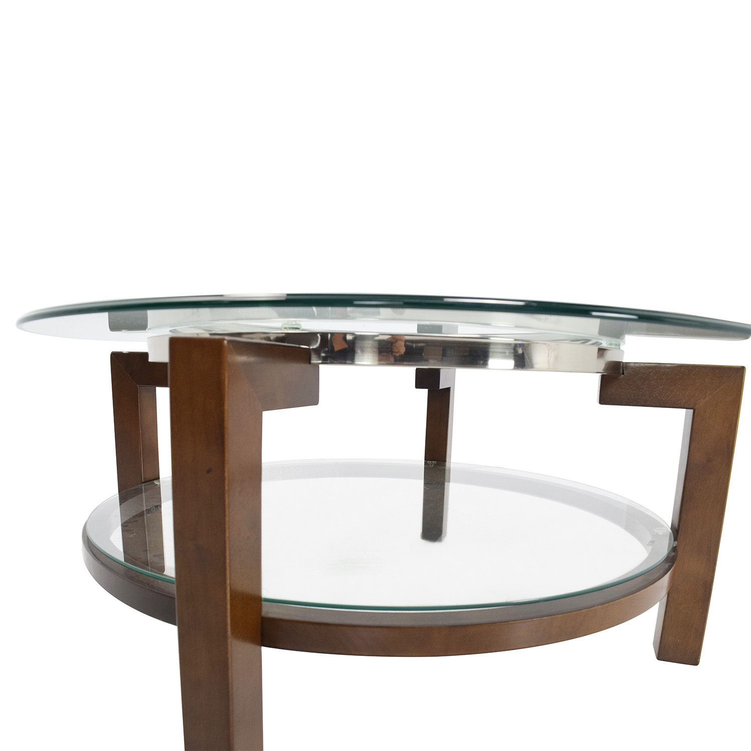 88 off macy 39 s macy 39 s glass top coffee table tables Used glass coffee table