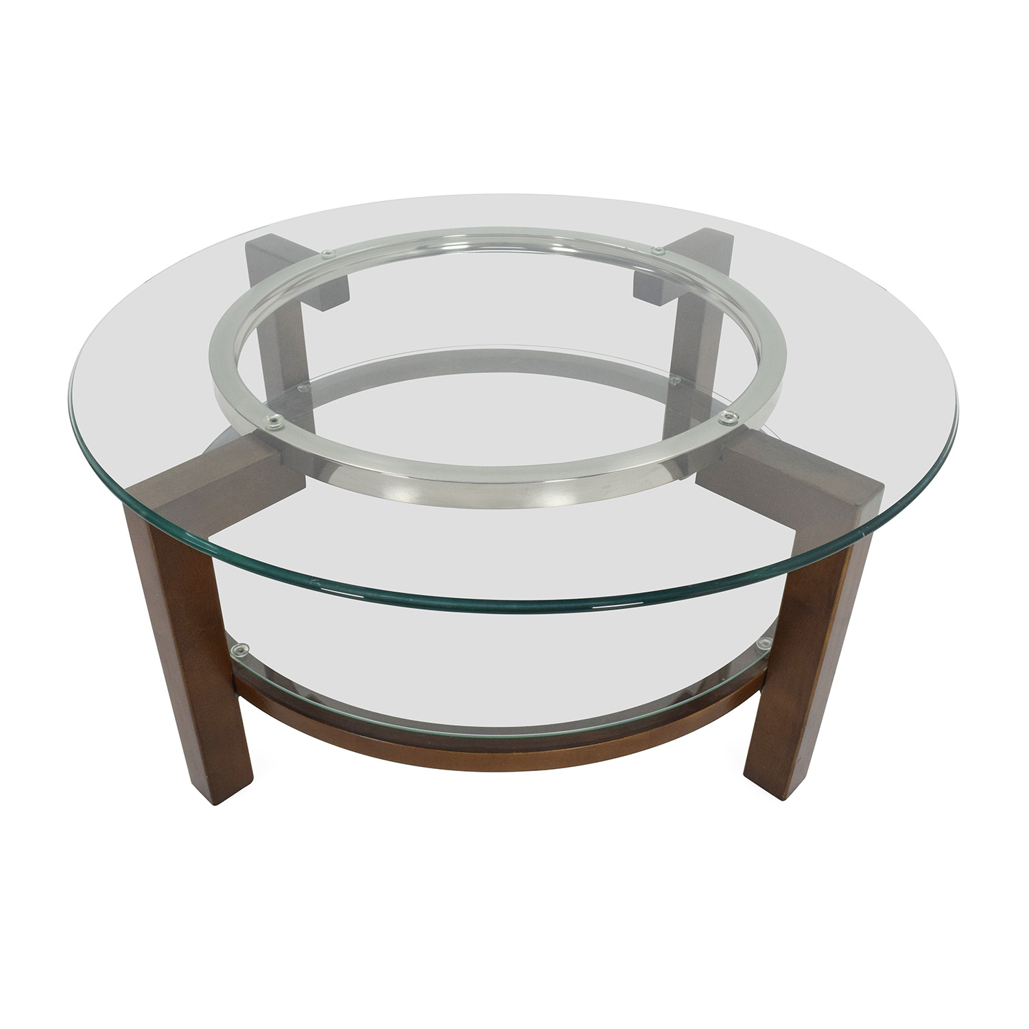 80 off cb2 cb2 glass top coffee table tables for Coffee tables glass top