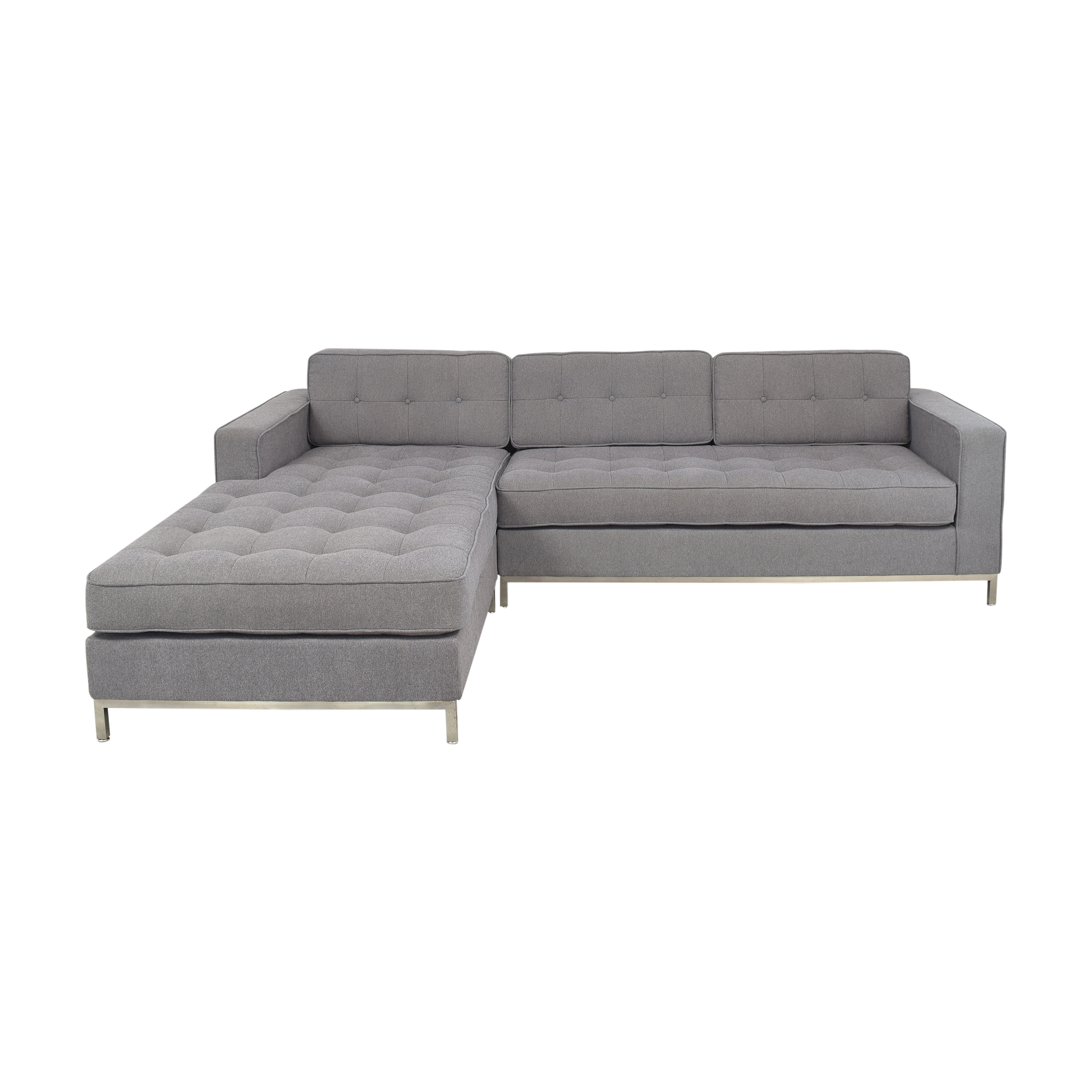 Gus Modern Gus Modern Chaise Sectional used