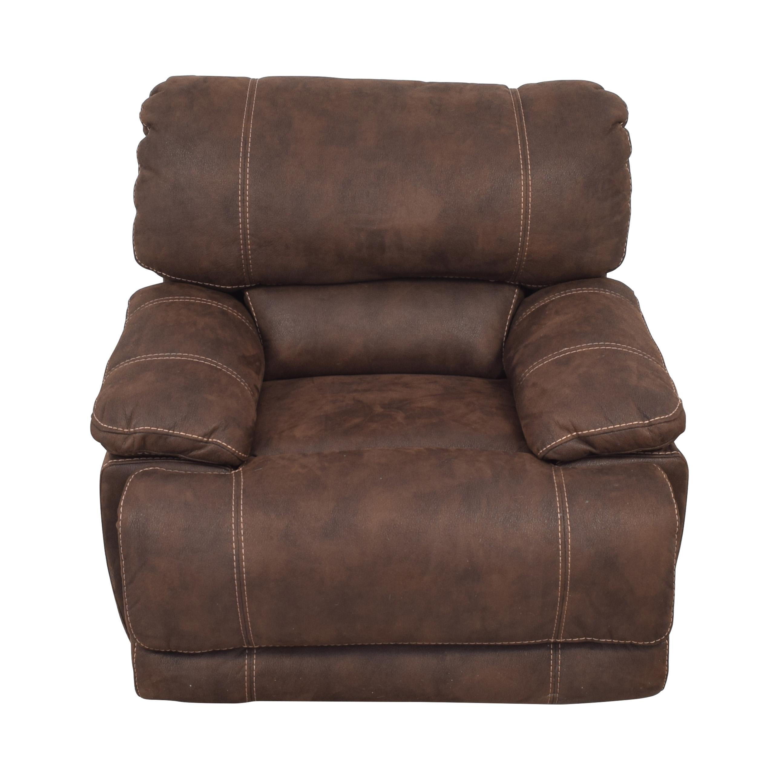 Macy's Macy's Upholstered Recliner pa