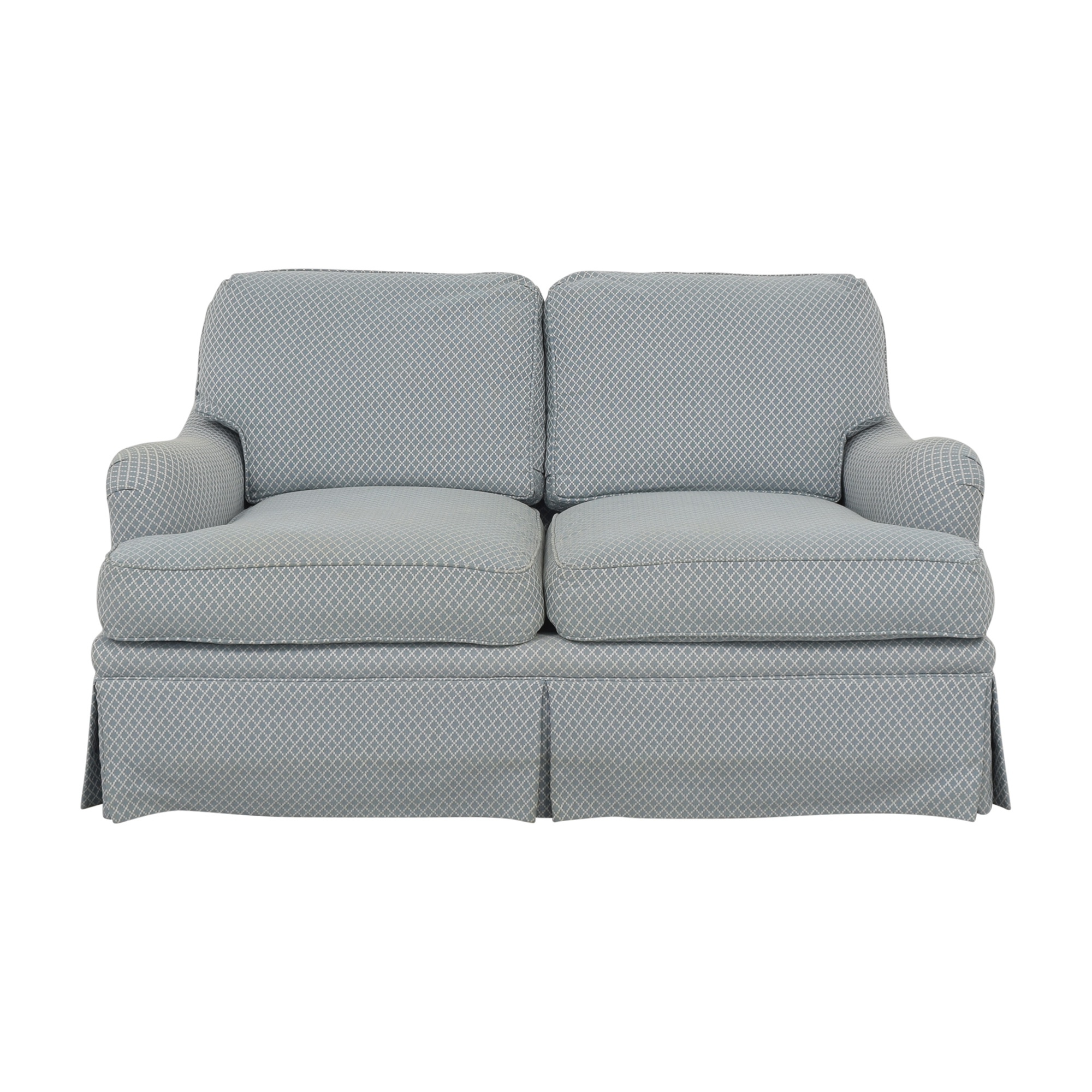 shop Century Furniture Two Cushion Loveseat Century Furniture Loveseats