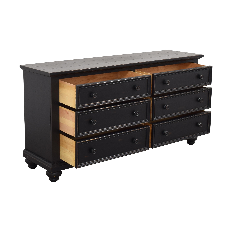 buy Ethan Allen Reagan 6-Drawer Dresser Ethan Allen