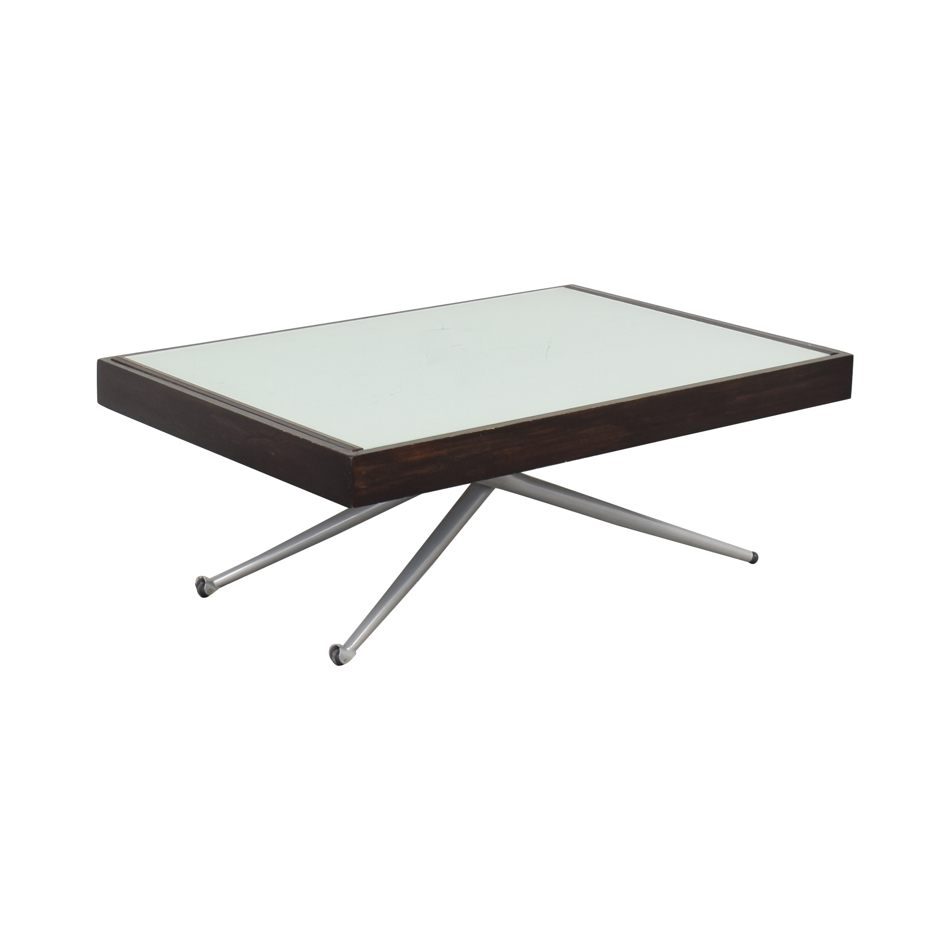 Modern Adjustable Height Coffee Table second hand
